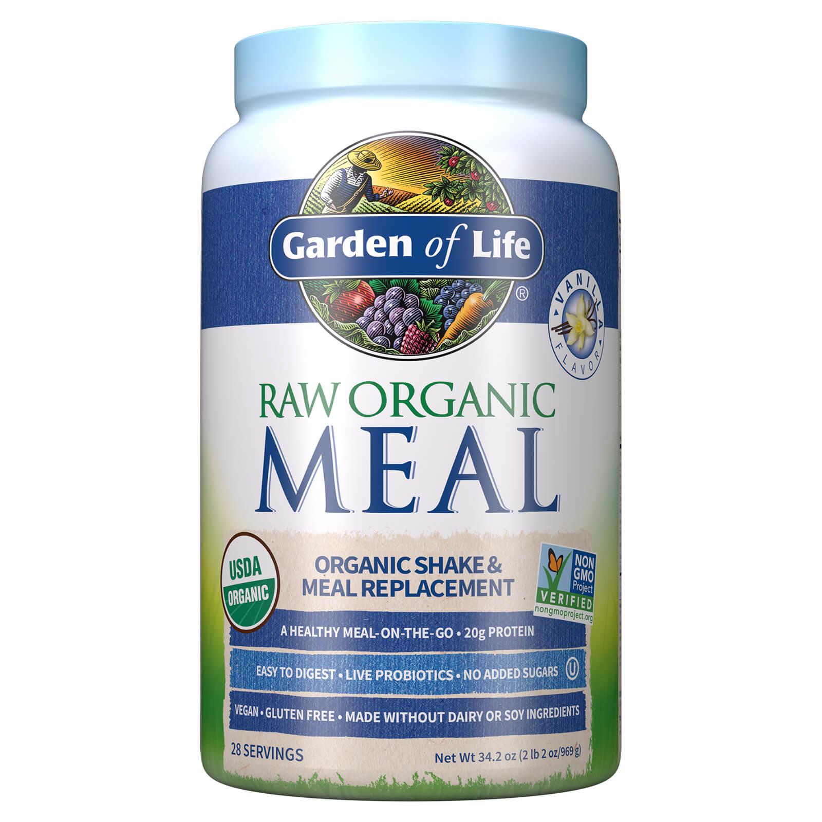 Raw Biologische Alles-in-Eén Shake - vanille - 969 g