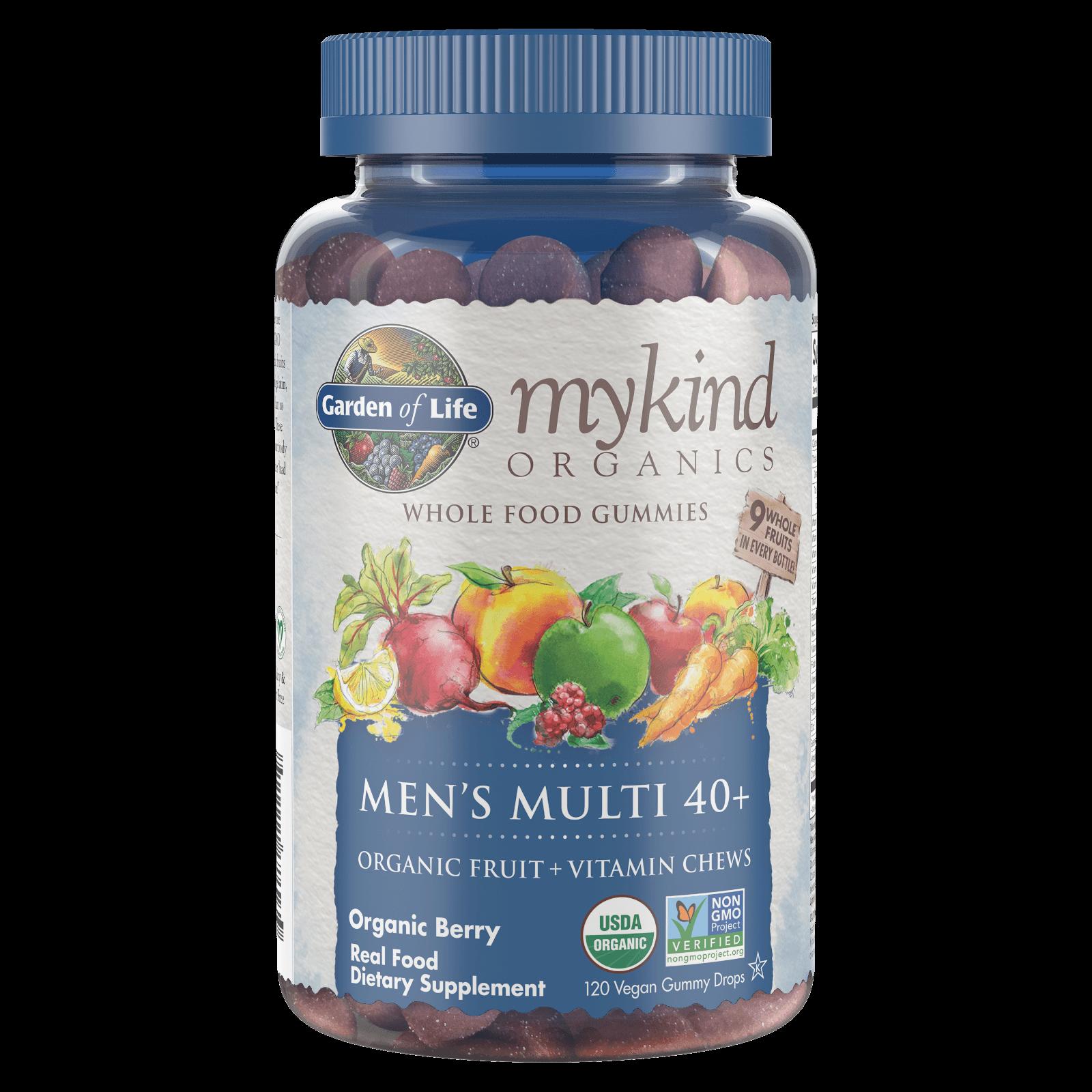 mykind Organics Mannen 40+ Multivitaminen - Bessen - 120 gummies