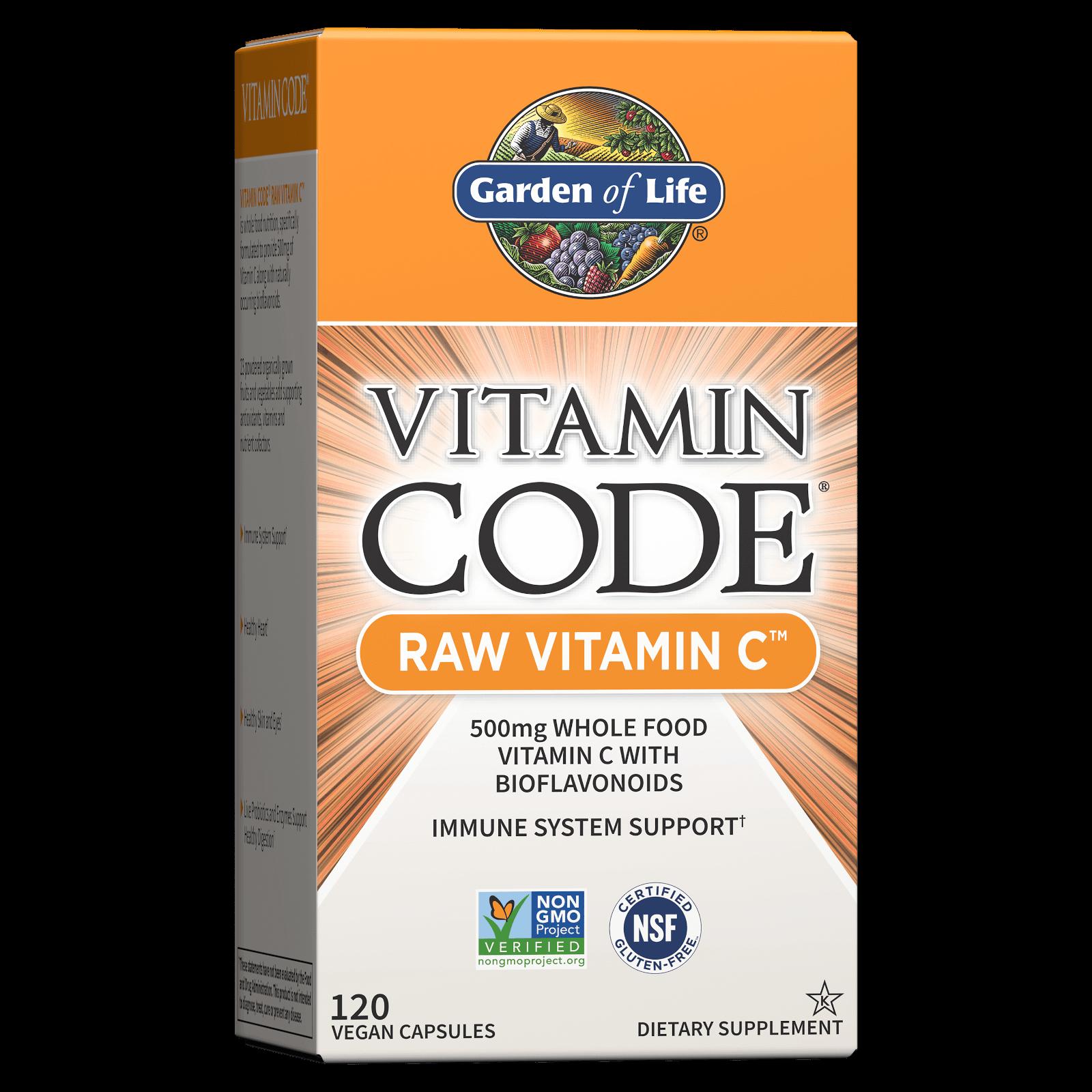 Vitamine Code Raw Vitamine C - 120 capsules