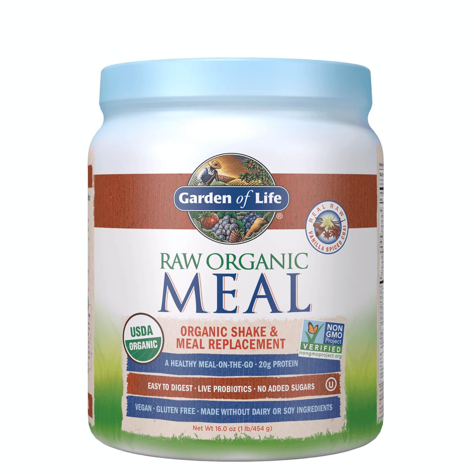 Raw Biologische Alles-in-Eén Shake - vanille gekruide chai - 454 g