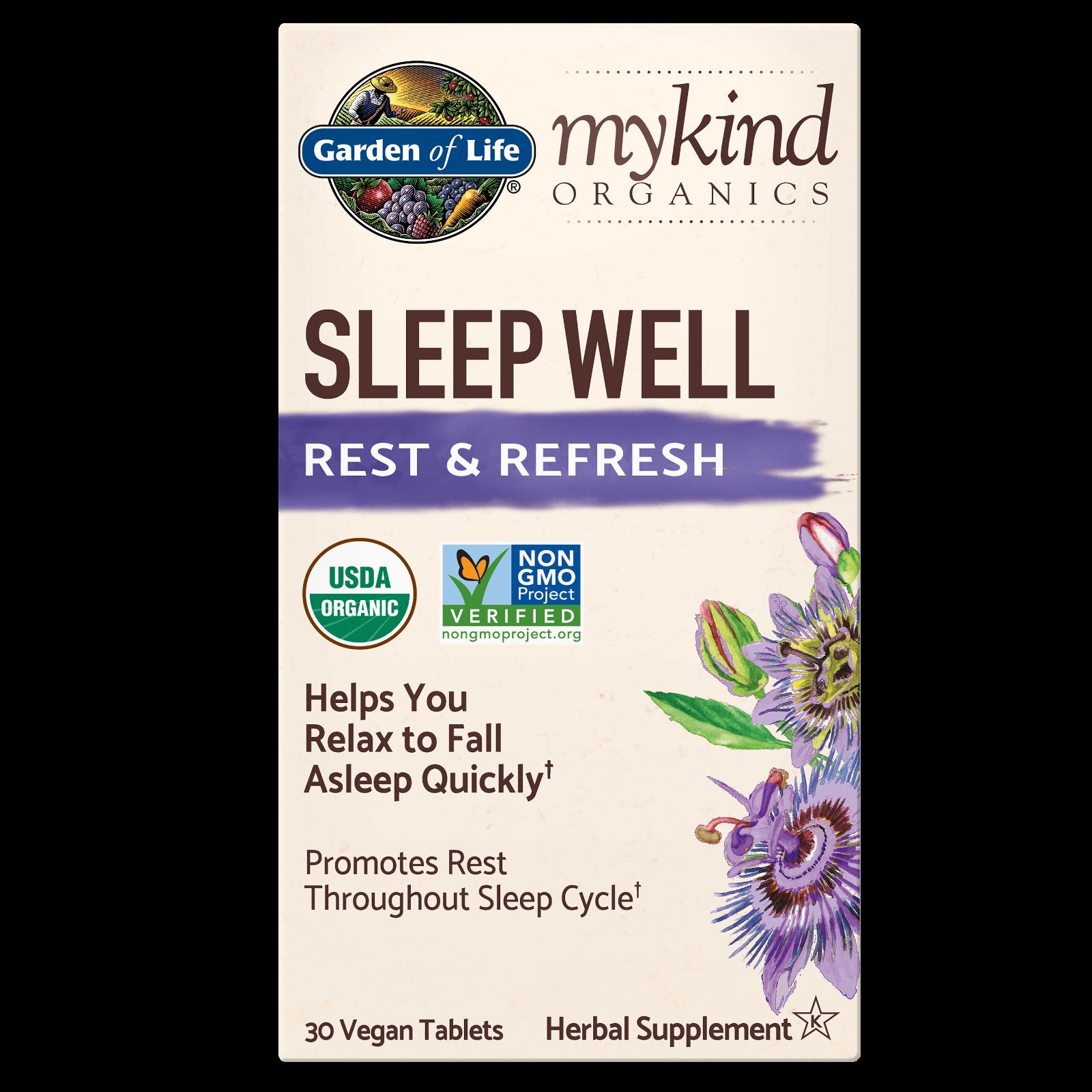 mykind Organics Kruidentabletten voor de Nacht - 30 tabletten