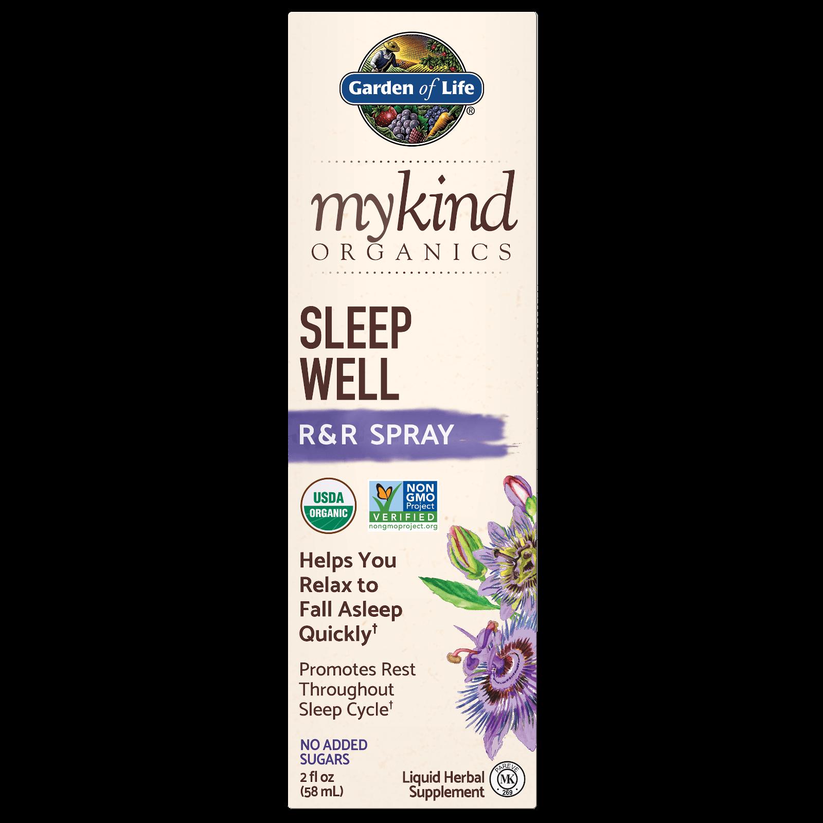 mykind Organics Kruidenmengsel voor de Nacht Spray - 58 ml