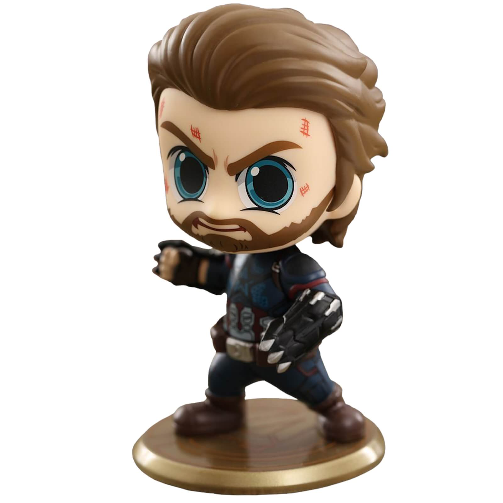 Image of Hot Toys Avengers: Infinity War Cosbaby Captain America - Size S