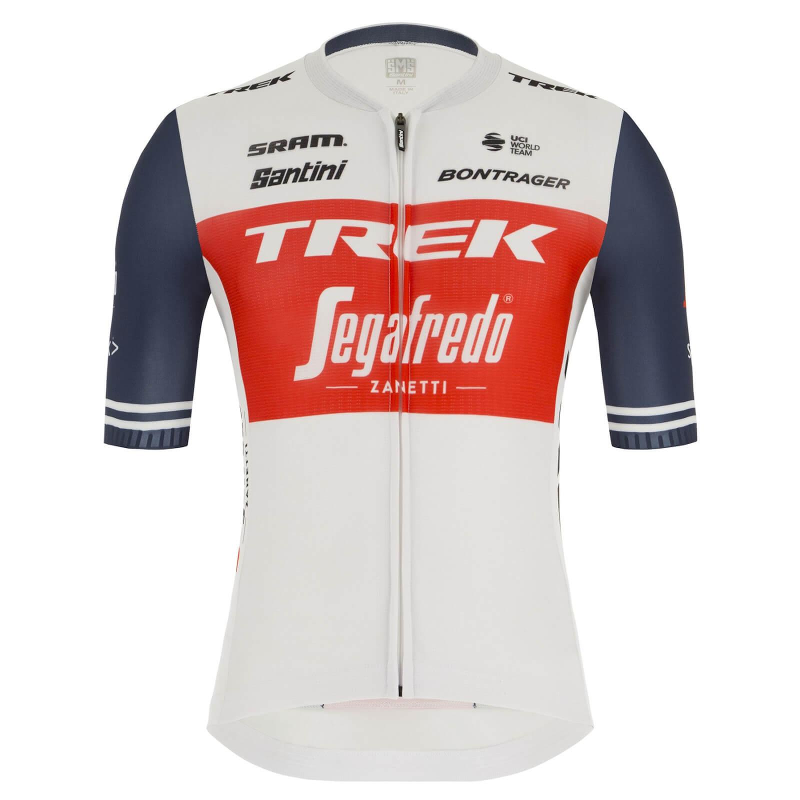 Santini Trek-Segafredo Pro Team Eco Sleek Race Jersey - XS