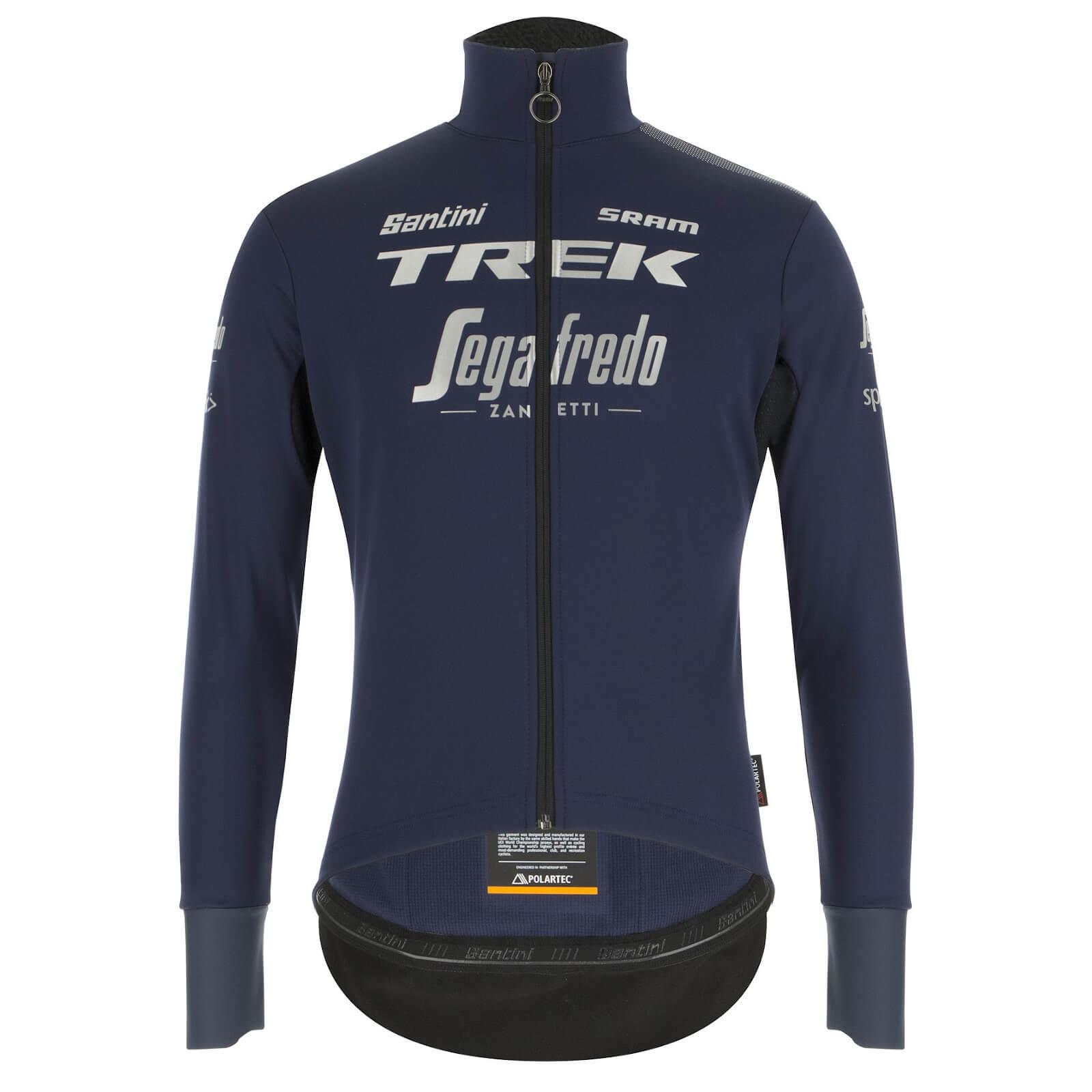 santini trek-segafredo pro team vega xtreme jacket - s