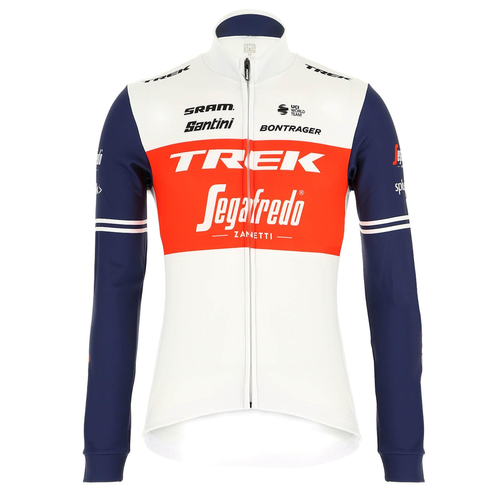 Santini Trek-Segafredo Classe Long Sleeve Jersey - XXL