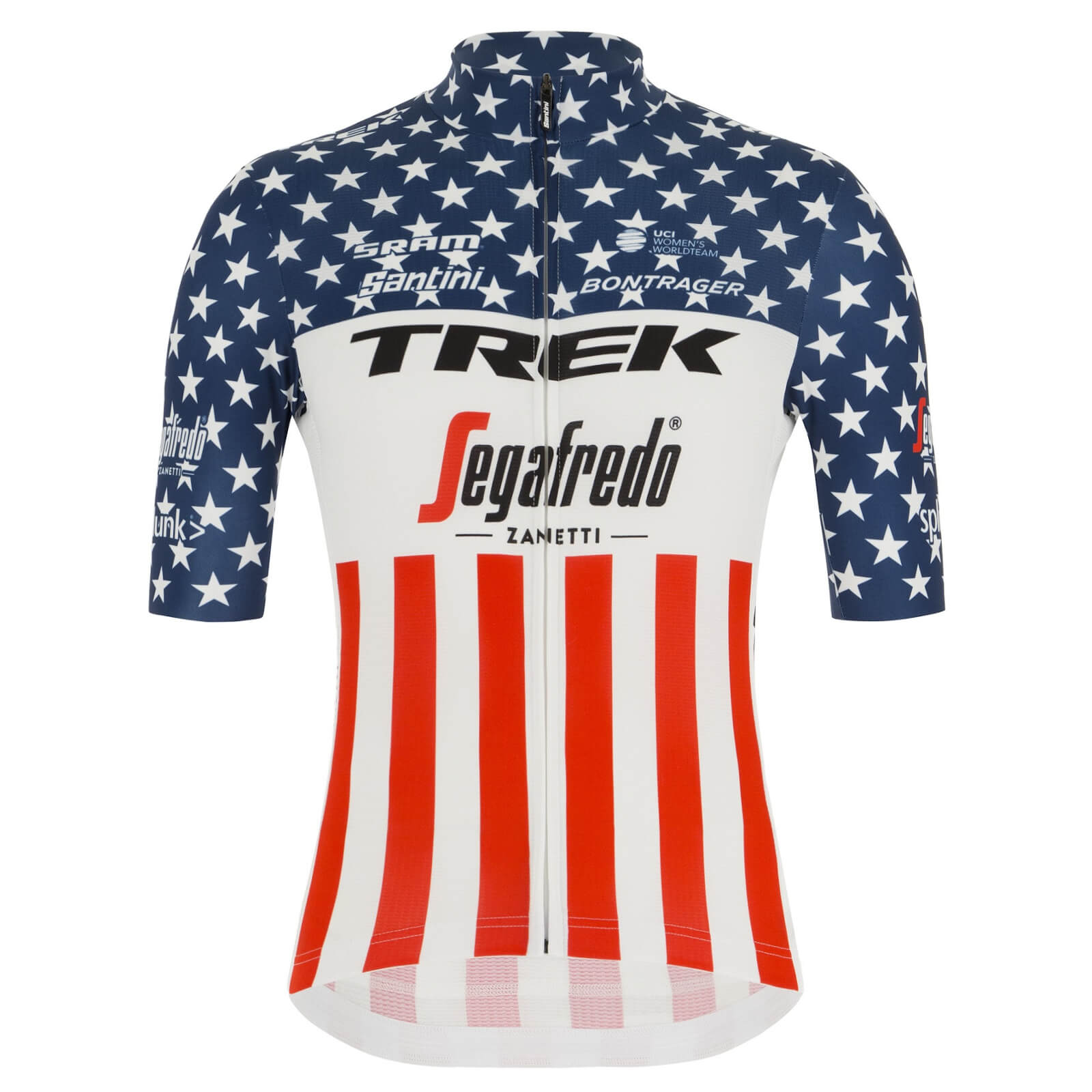 Santini Women's Trek-Segafredo US National Champion Blend Jersey - S
