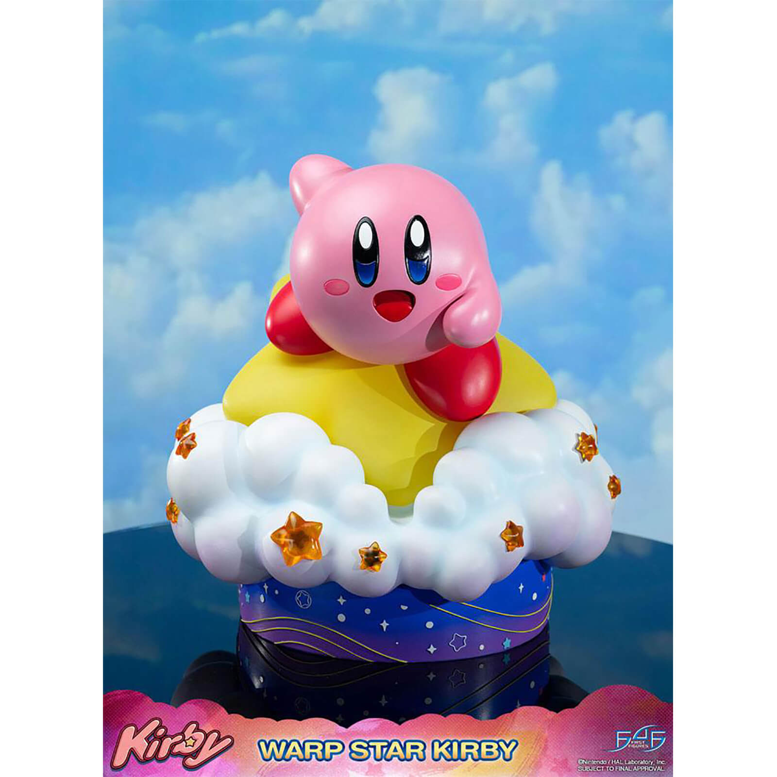Image of First 4 Figures Kirby Resin Statue - Wrap Star Kirby