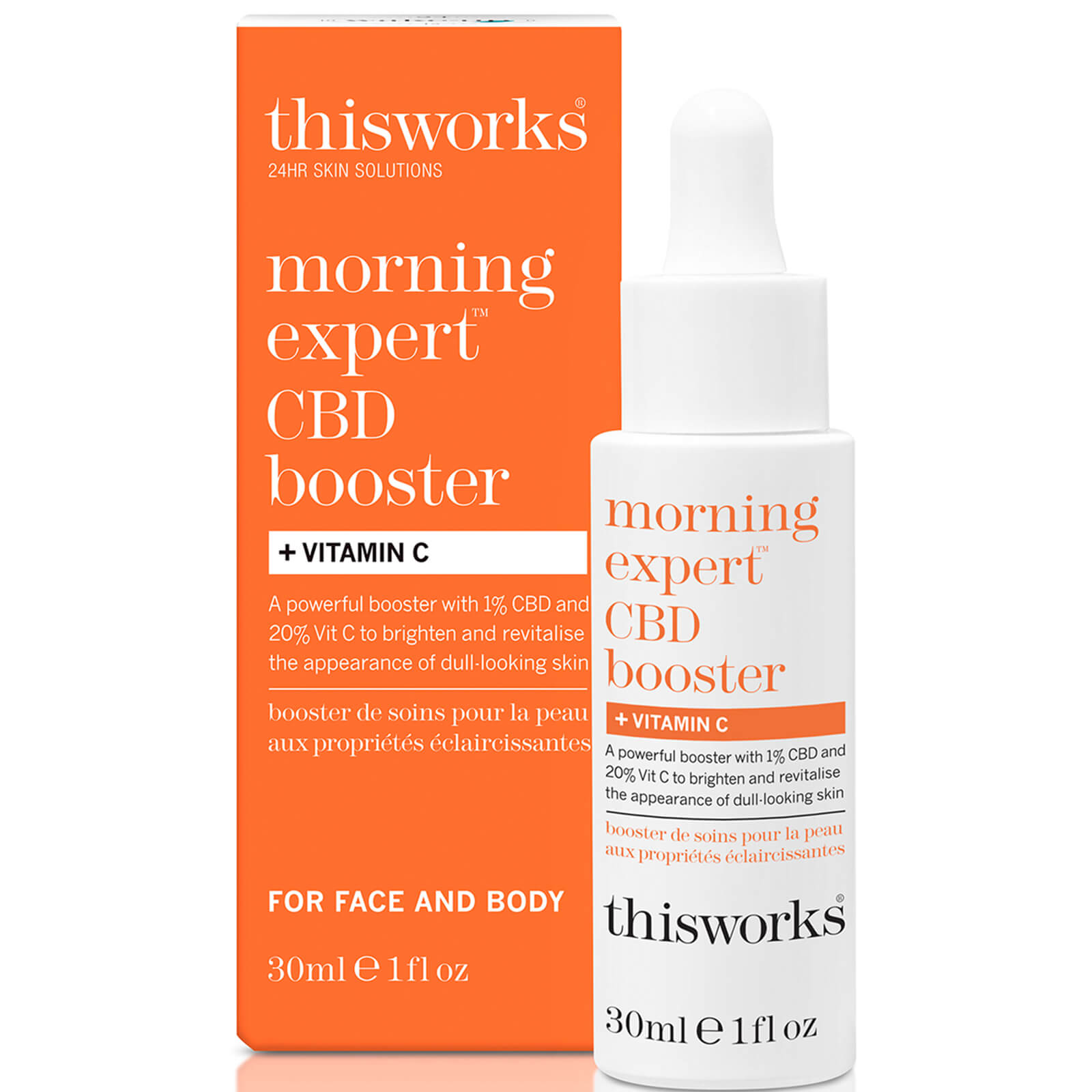 Купить This works Morning Expert CBD Booster and Vitamin C