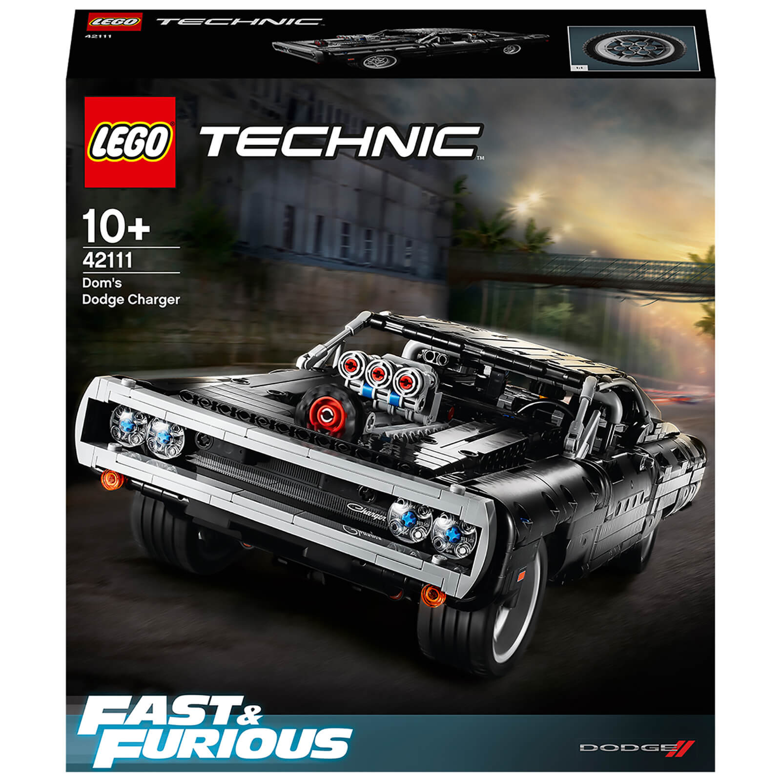 Image of LEGO Technic: Fast & Furious Dom's Dodge Charger Set (42111)