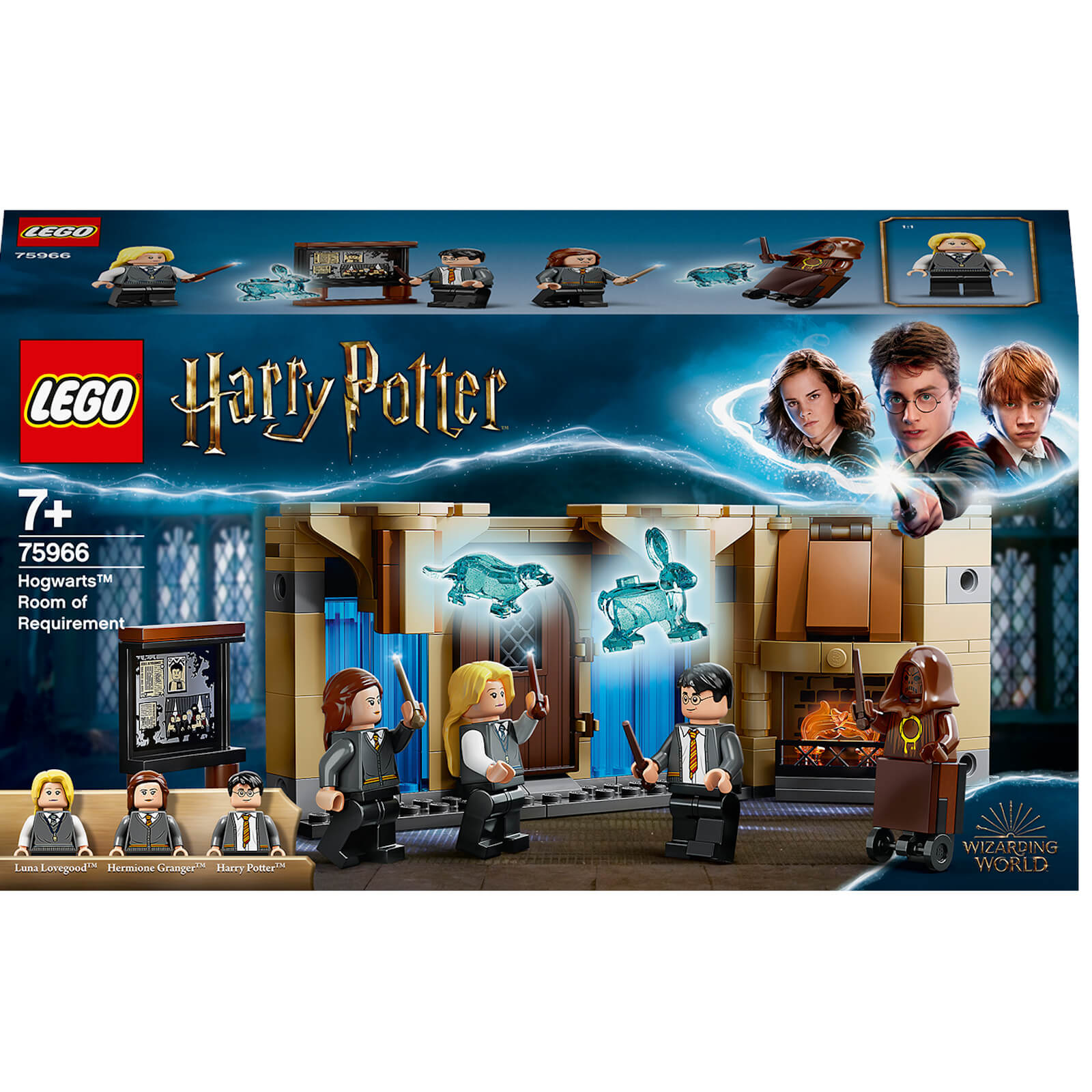 Image of LEGO Harry Potter: Hogwarts Room of Requirement Set (75966)