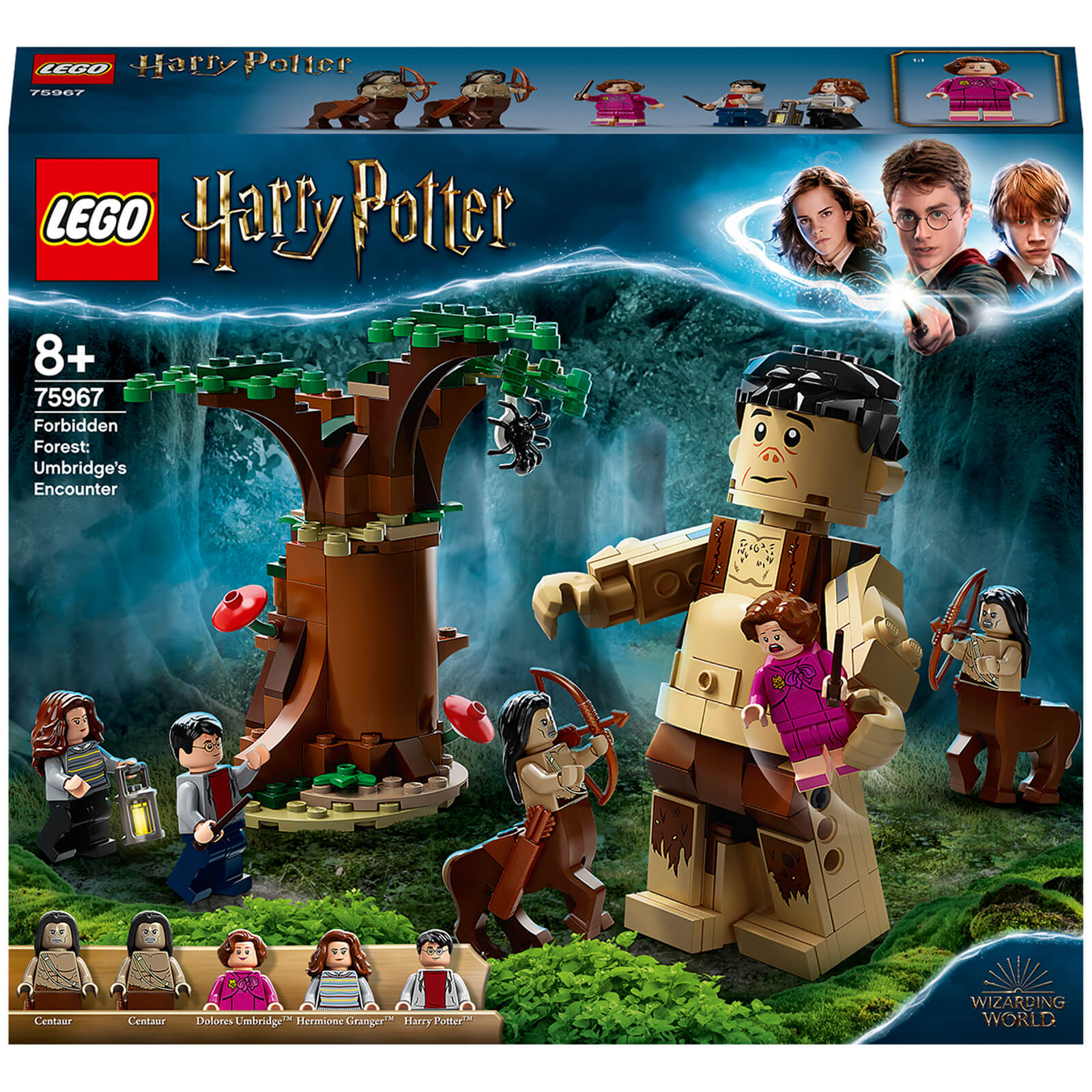 Image of 75967 LEGO® HARRY POTTER™ The Forbidden Forest: Meeting with Umbridge