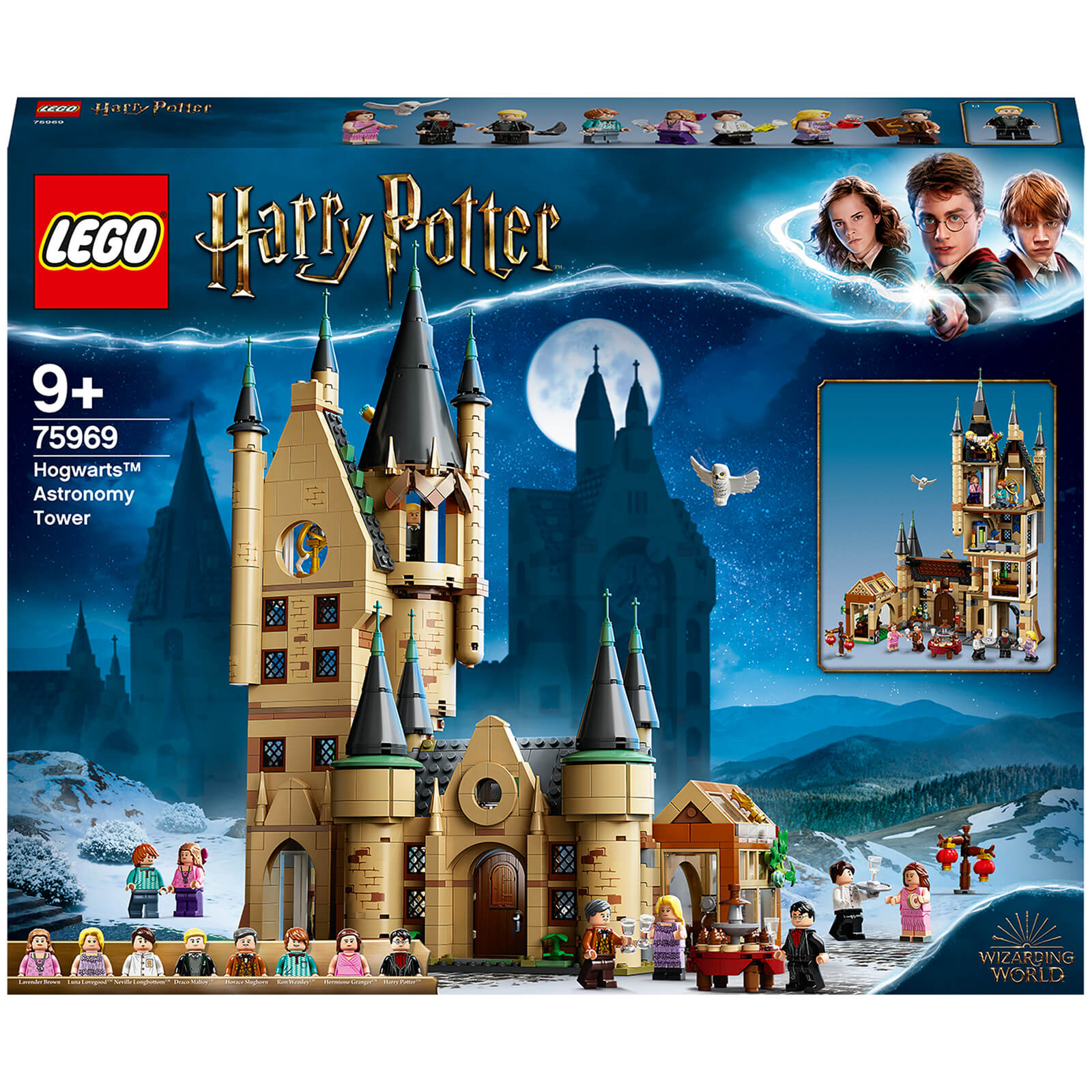 Image of LEGO Harry Potter: Hogwarts Astronomy Tower Play Set (75969)