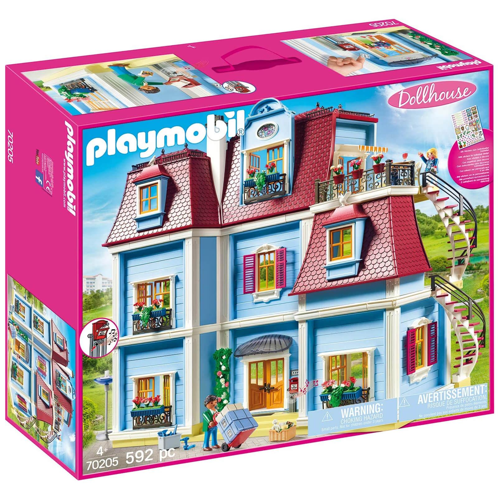 Image of Playmobil Dollhouse Large Dollhouse (70205)