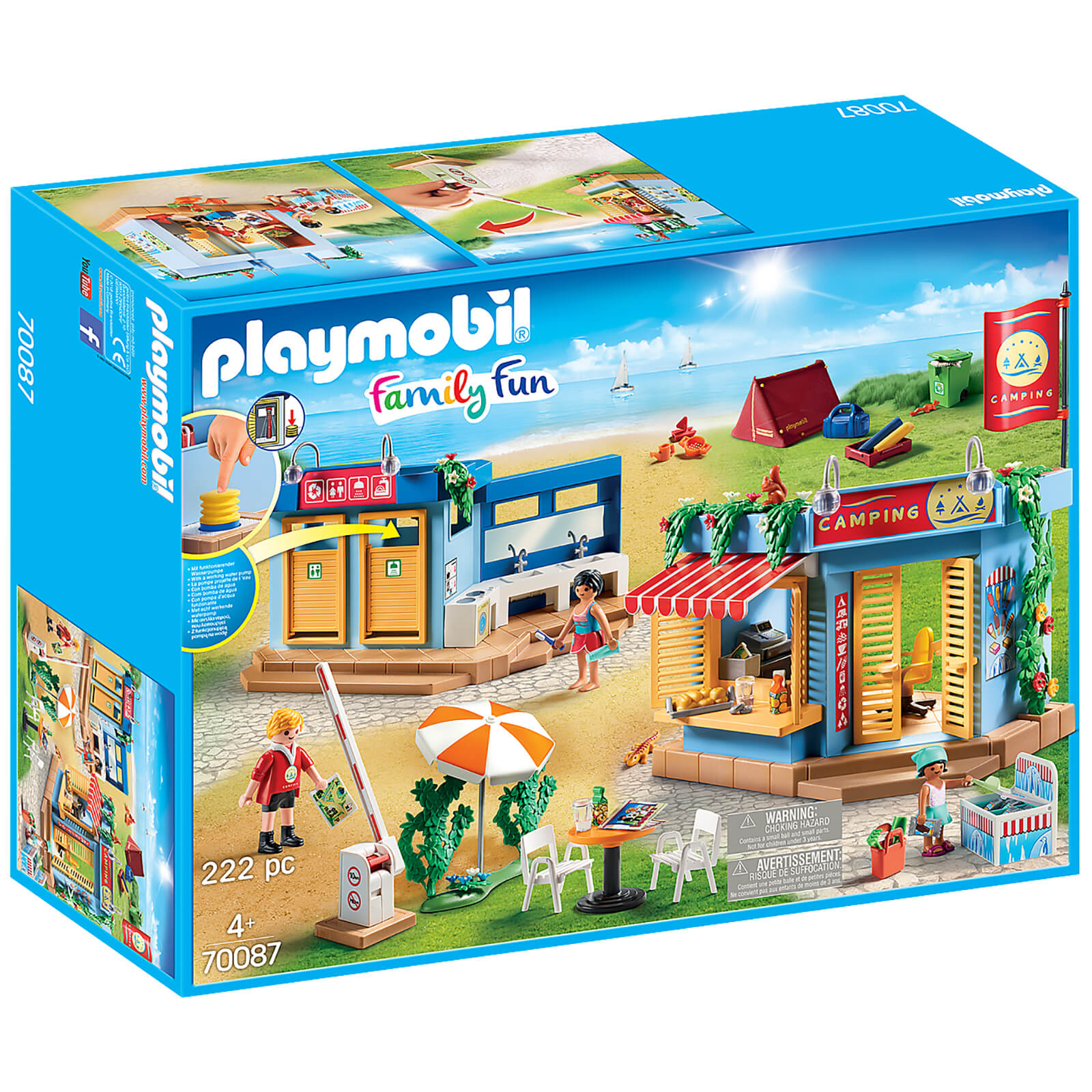 Image of Playmobil Family Fun Large Campground