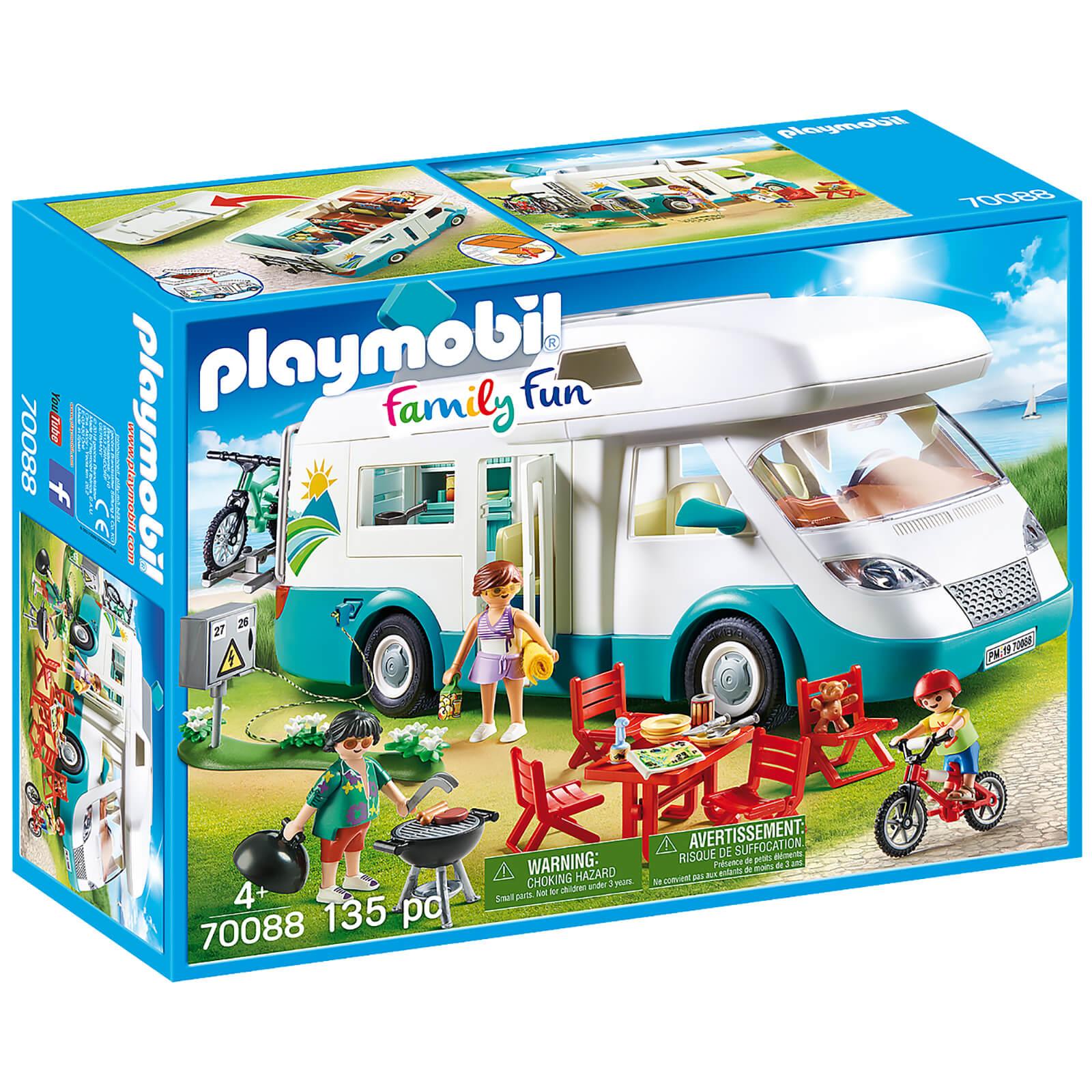 Image of Playmobil Family Fun Family Camper (70088)
