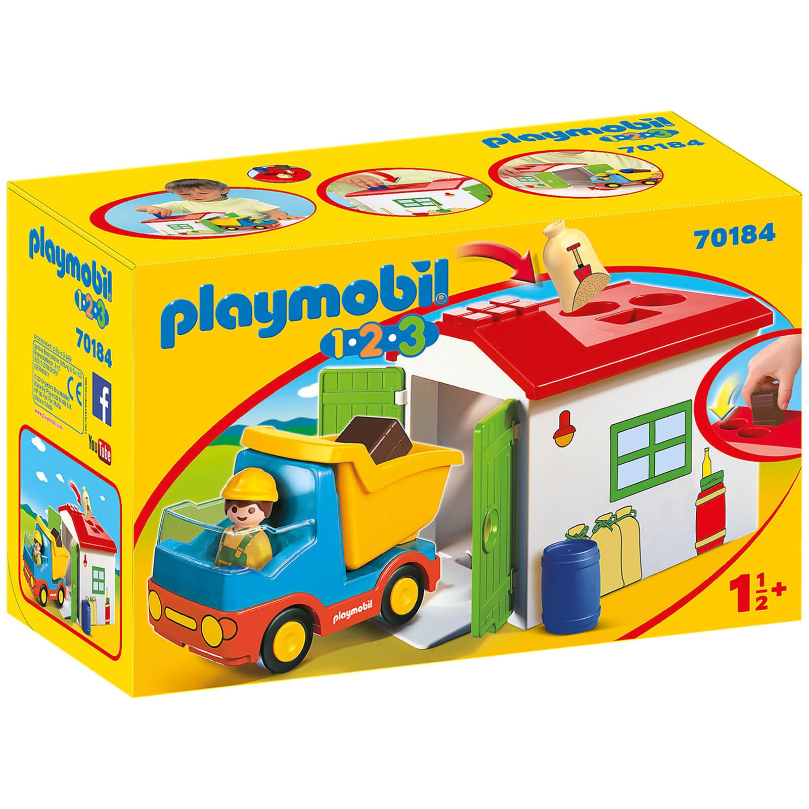 Image of Playmobil 1.2.3 Garbage Truck