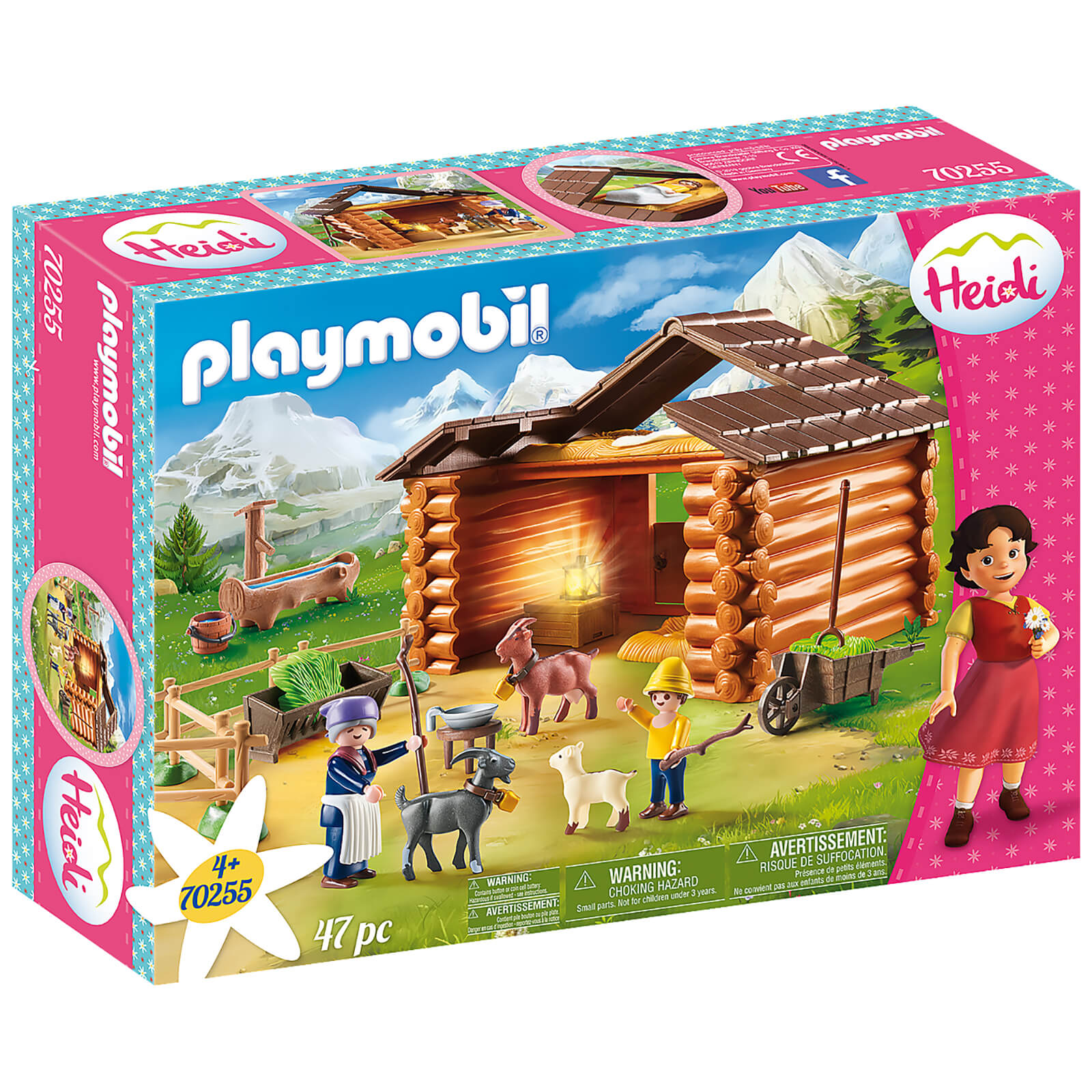 Image of Playmobil Peter's Goat Stable (70255)