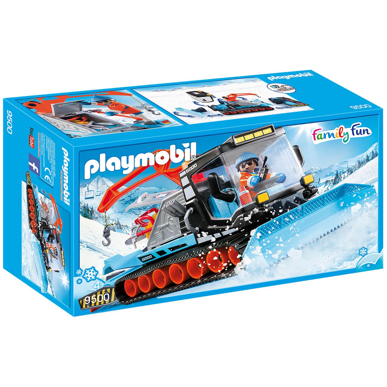 Playmobil Family Fun Snow Plow (9500)