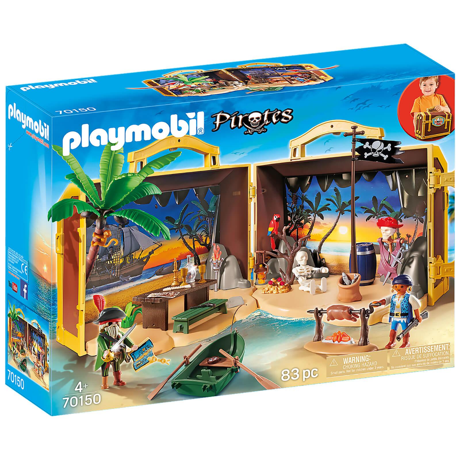 Playmobil Pirates Take Along Pirate Island (70150)
