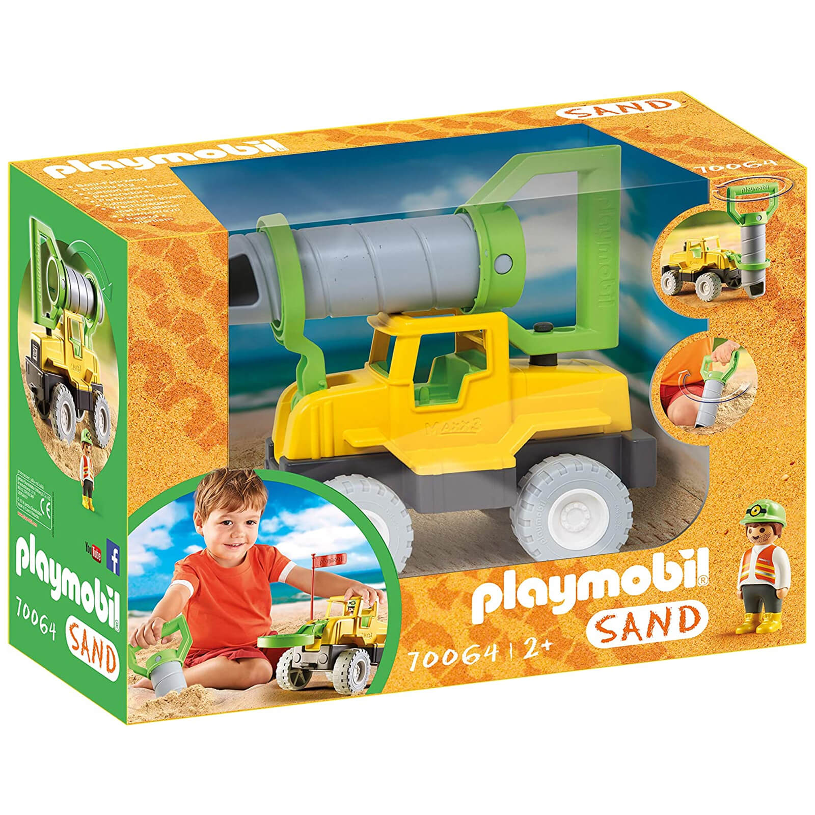 Image of Playmobil Sand Drilling Rig (70064)