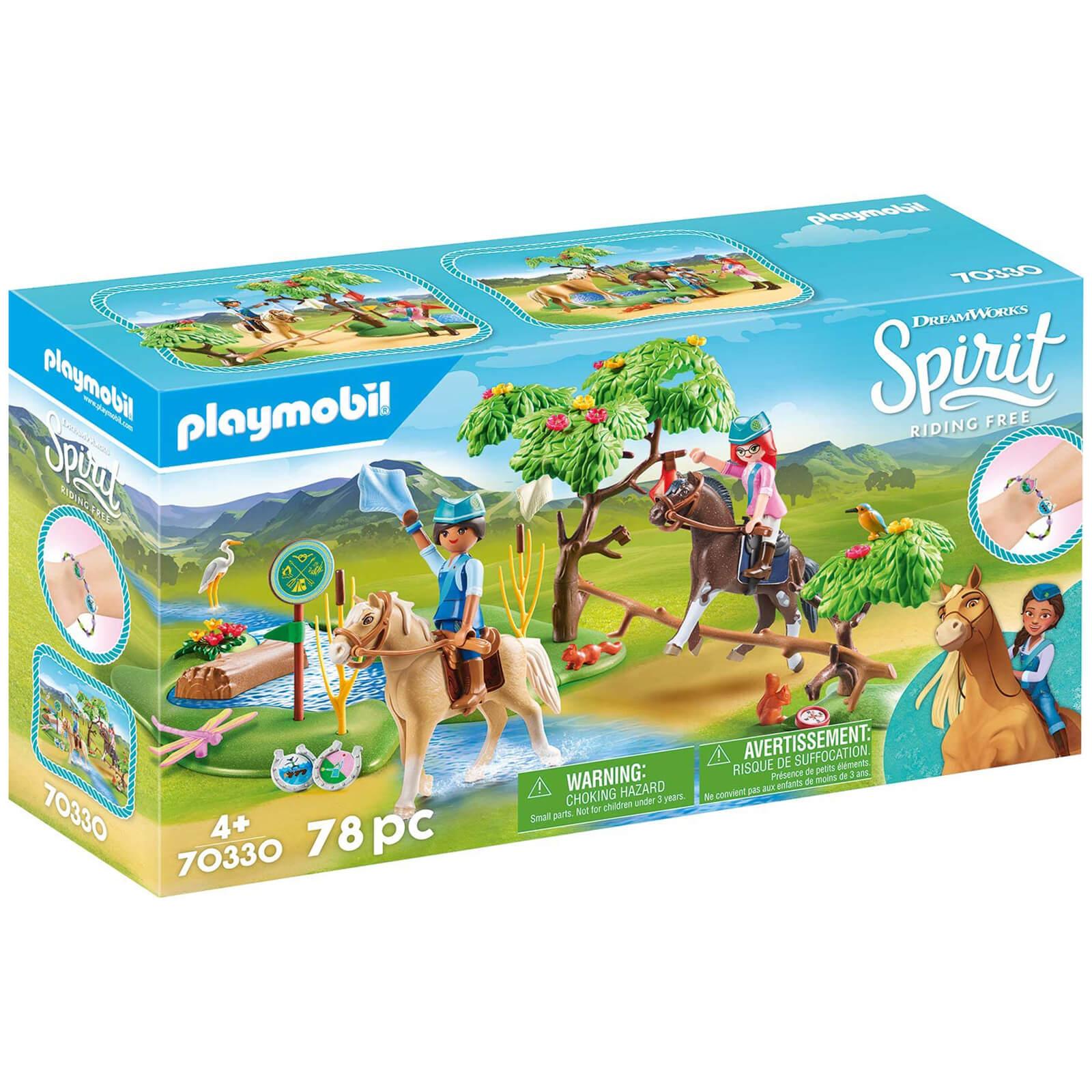 Image of Playmobil DreamWorks Spirit Outdoor Adventure (70330)