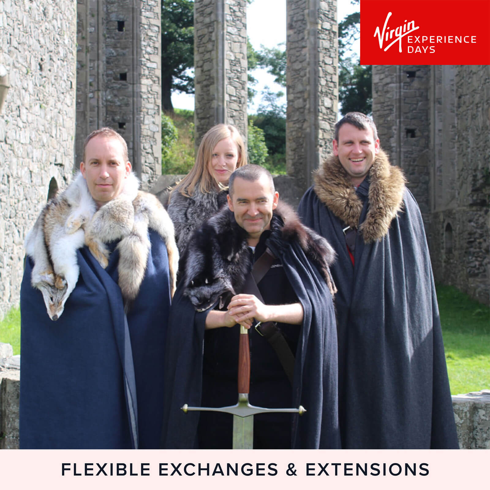 Image of Game of Thrones Winterfell Tour with Direwolves for Two