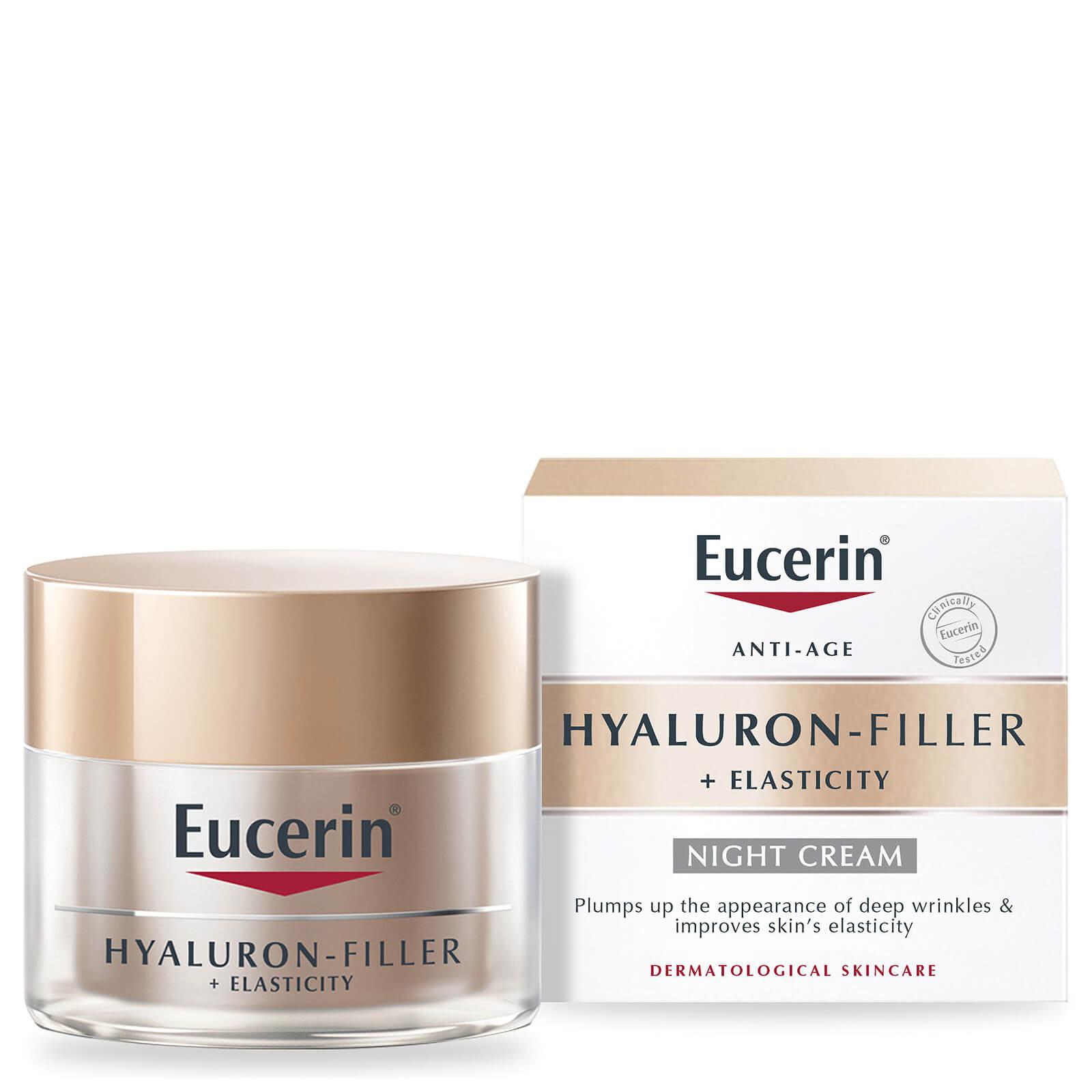 Image of Eucerin Hyaluron-Filler + Elasticity Night Cream 50ml