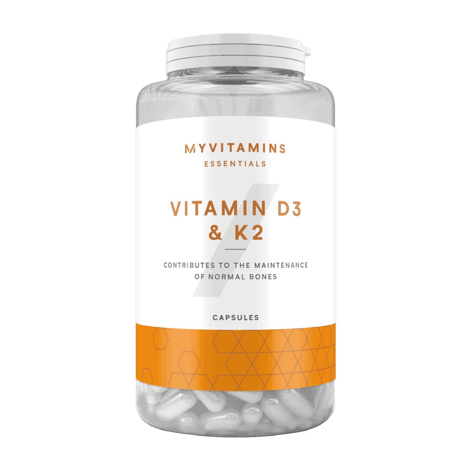 Vitamine D3 et K2 - 30Gélules