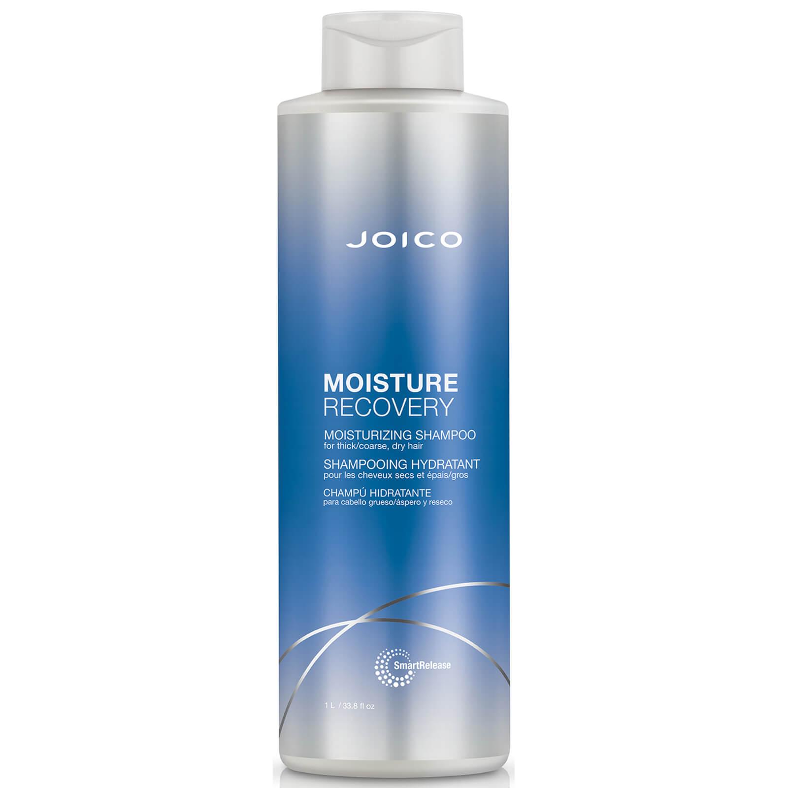 Купить Joico Moisture Recovery Moisturizing Shampoo For Thick-Coarse, Dry Hair 1000ml