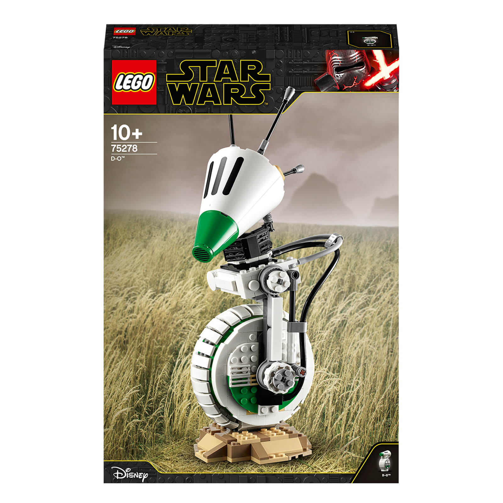 Image of LEGO Star Wars: D-O Collectible Droid Building Set (75278)