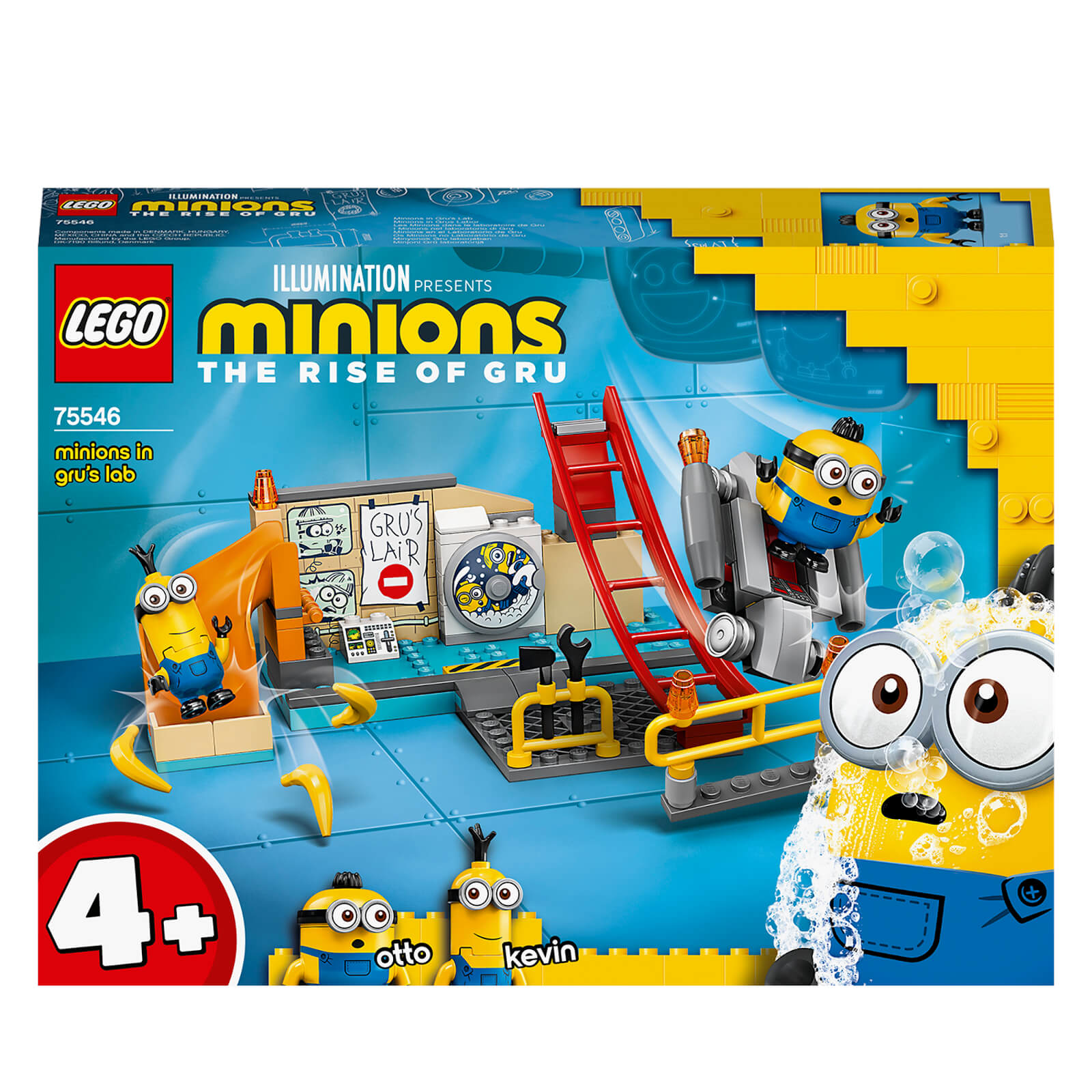 Image of LEGO 4+ Minions: in Gru's Lab Building Set (75546)