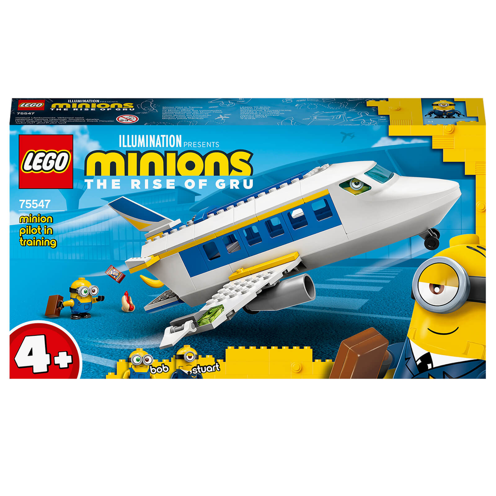 Image of LEGO 4+ Minions: Pilot in Training Plane Toy (75547)