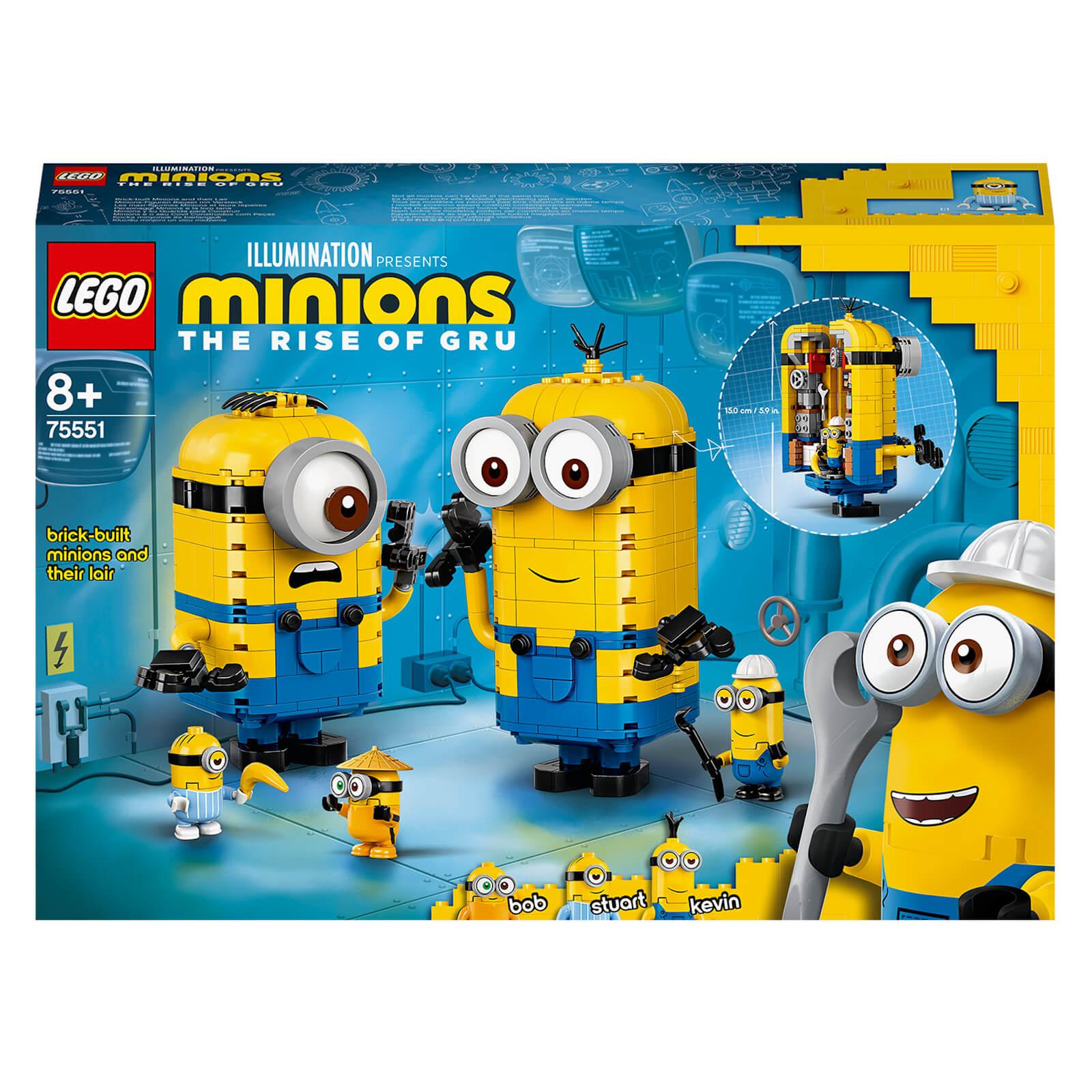 Image of LEGO Minions: Brick-Built Minions: & Their Lair Set (75551)