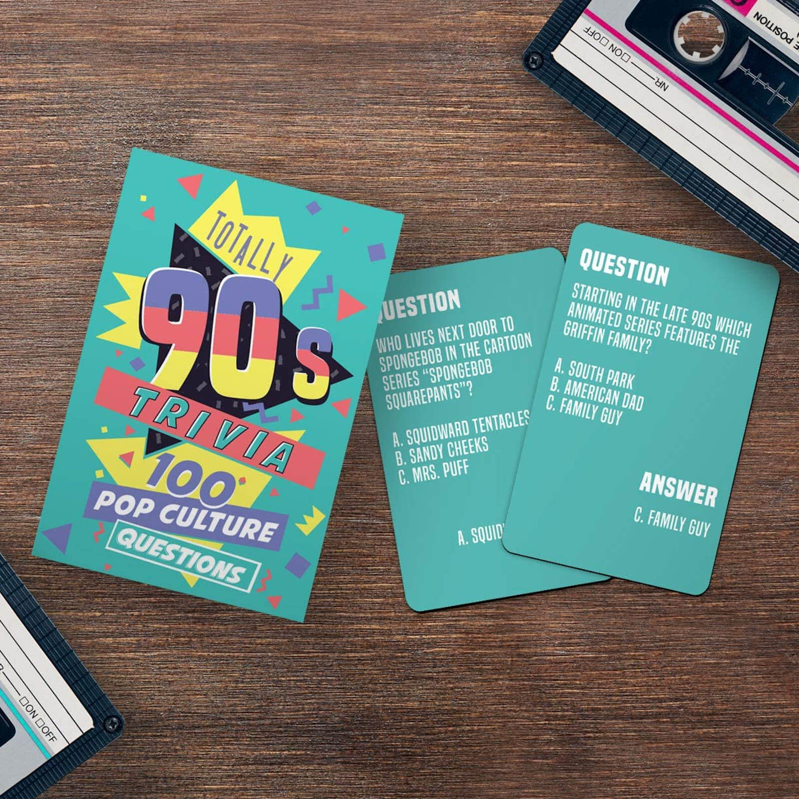Image of Totally 90s Trivia Cards