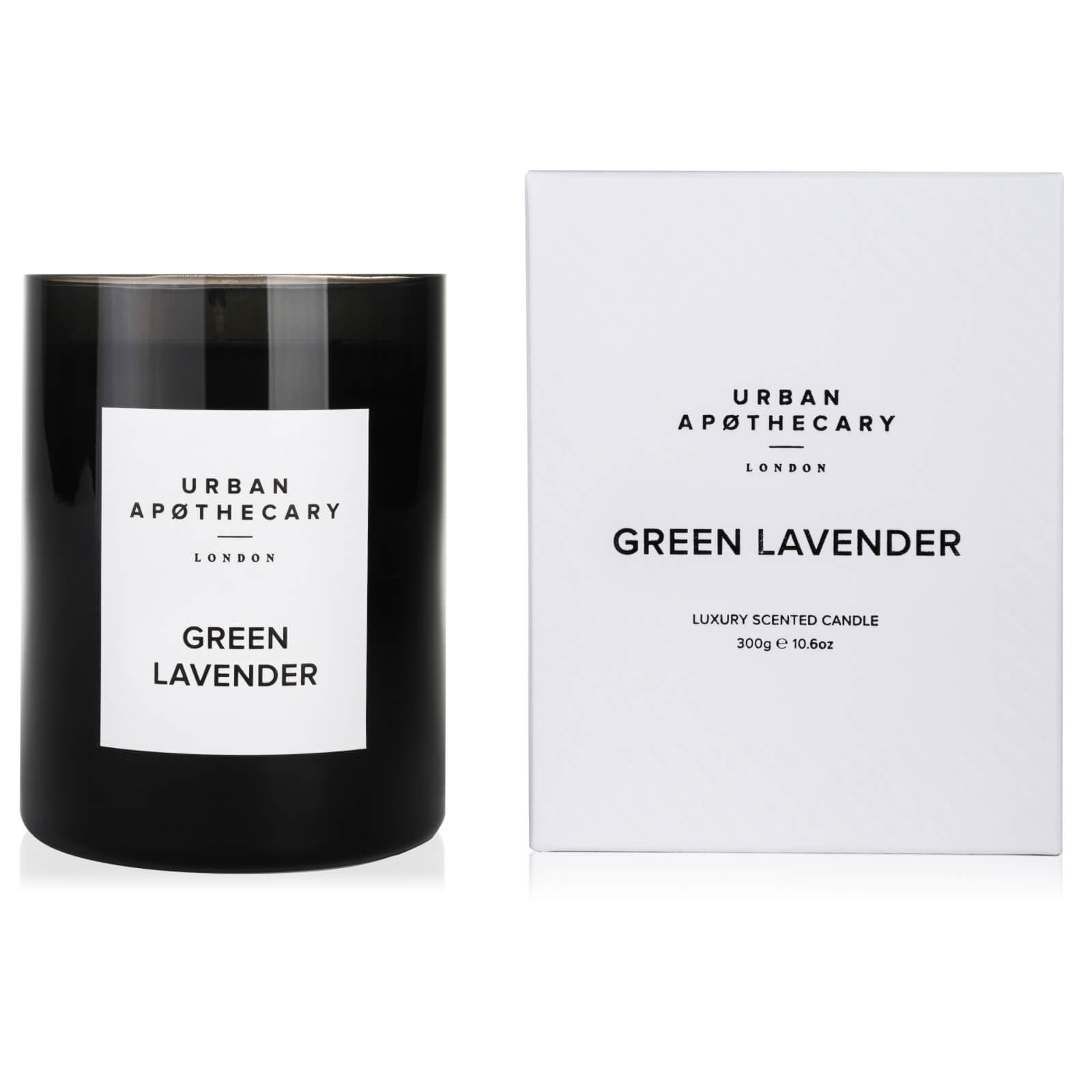 Urban Apothecary Green Lavender Luxury Candle - 300g