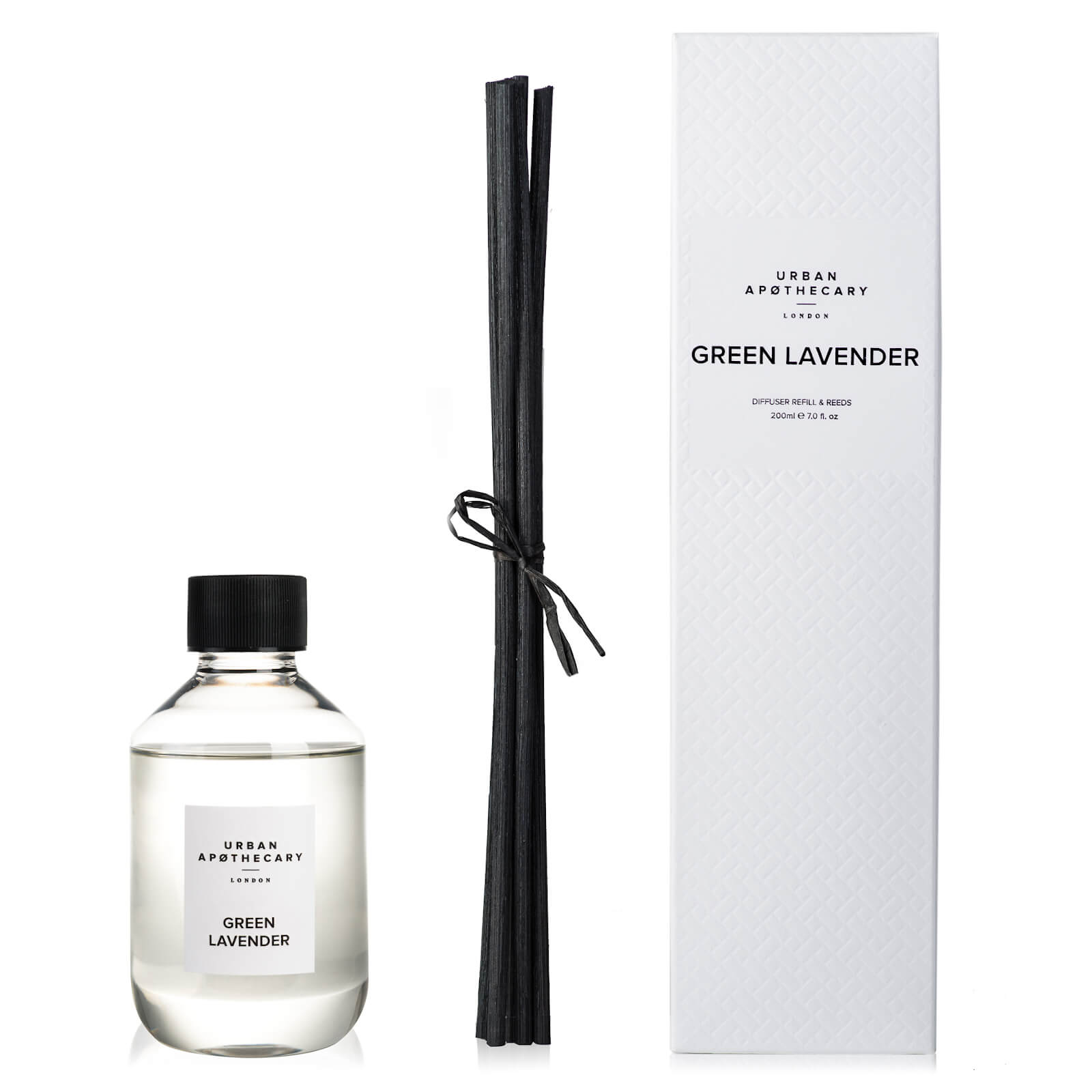 Urban Apothecary Green Lavender Luxury Diffuser Refill - 200ml
