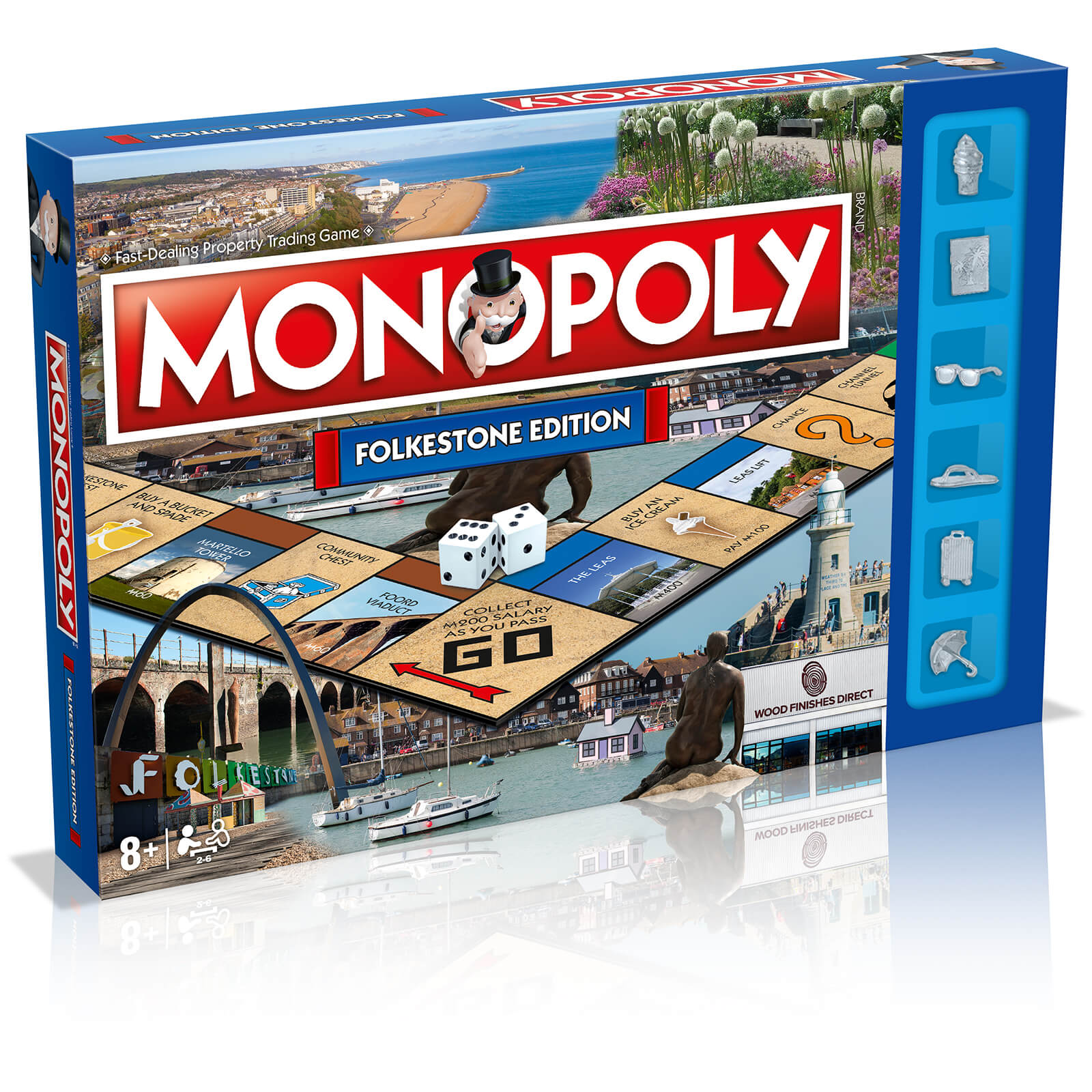 Image of Monopoly Board Game - Folkestone Edition