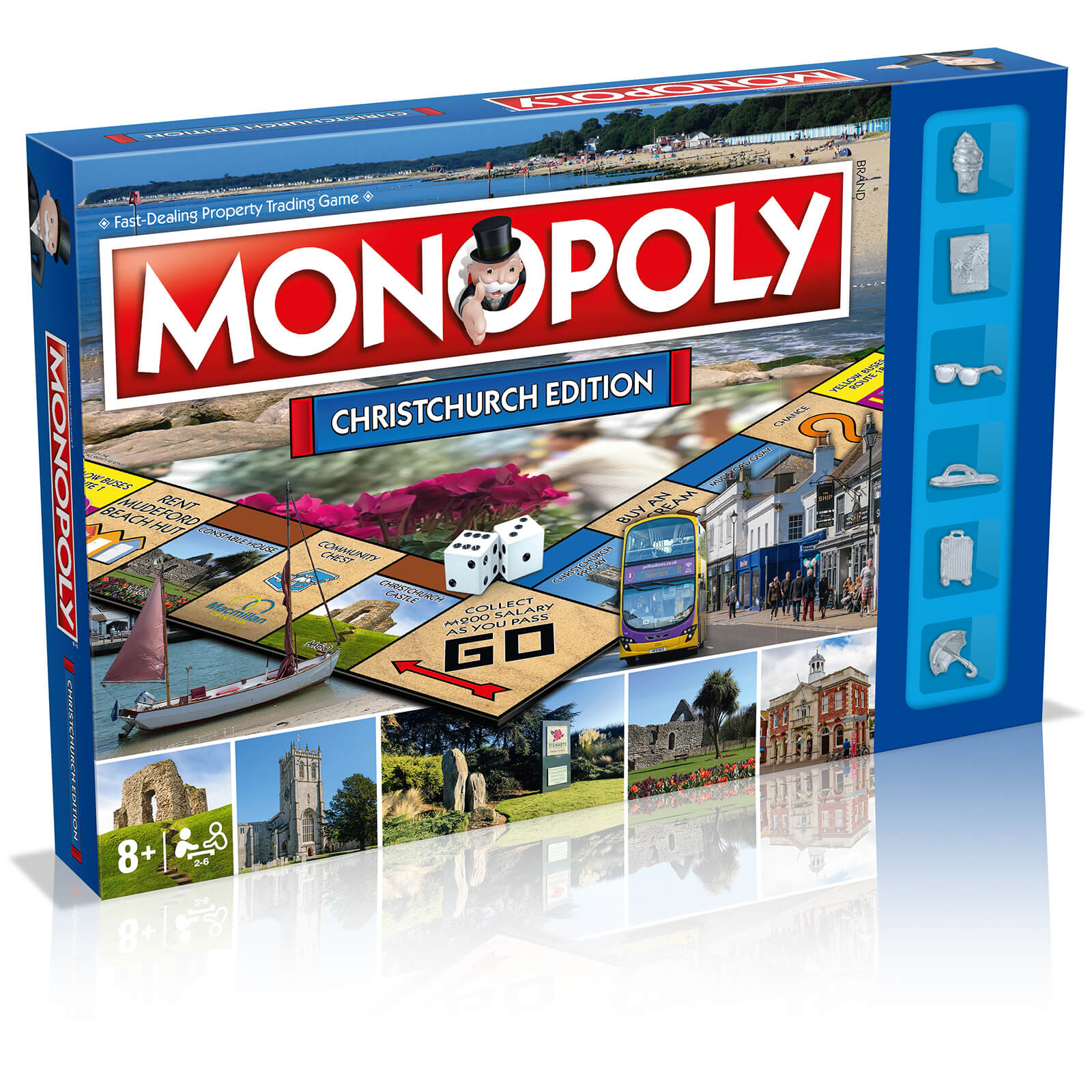 Image of Monopoly Board Game - Christchurch Edition