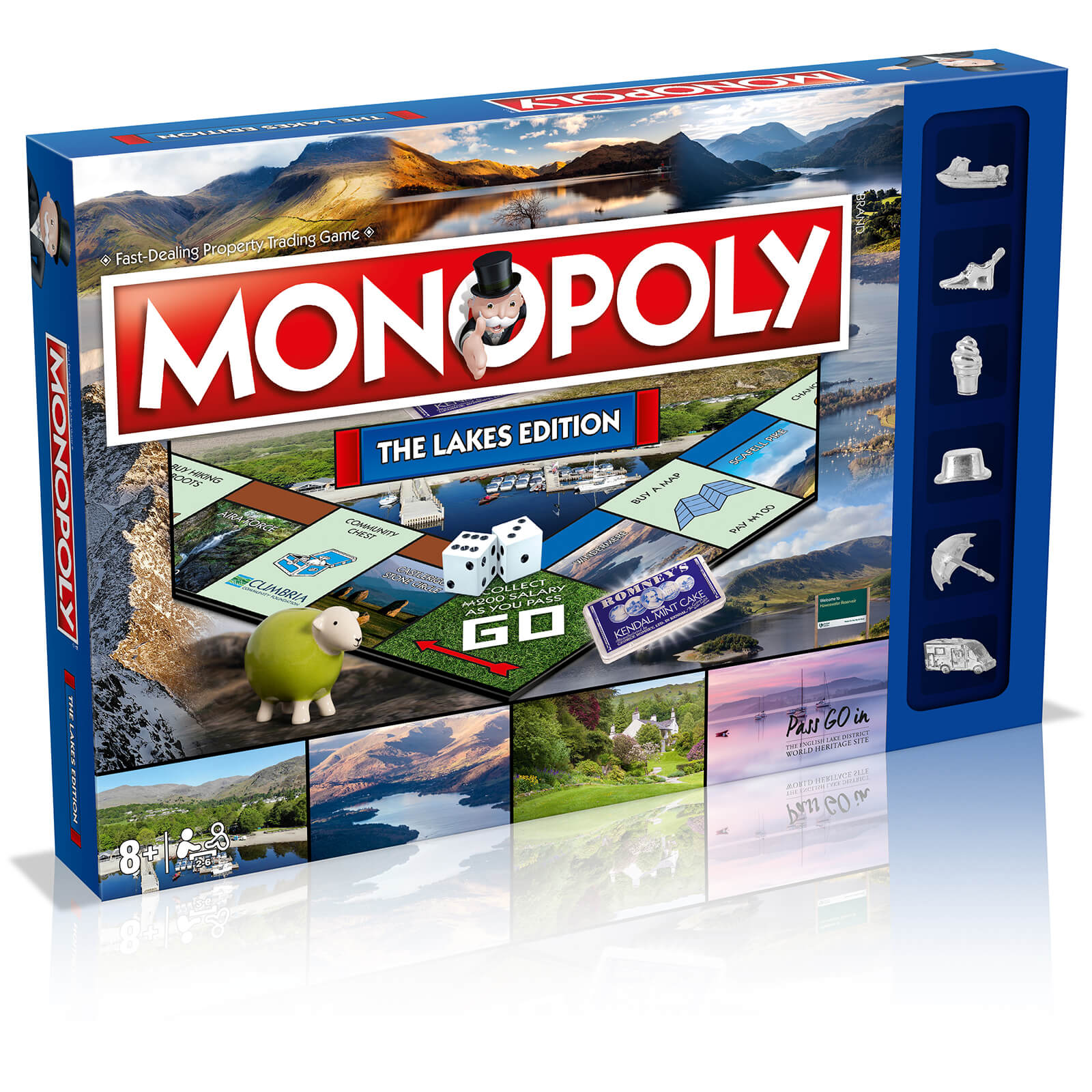 Image of Monopoly Board Game - The Lakes Edition