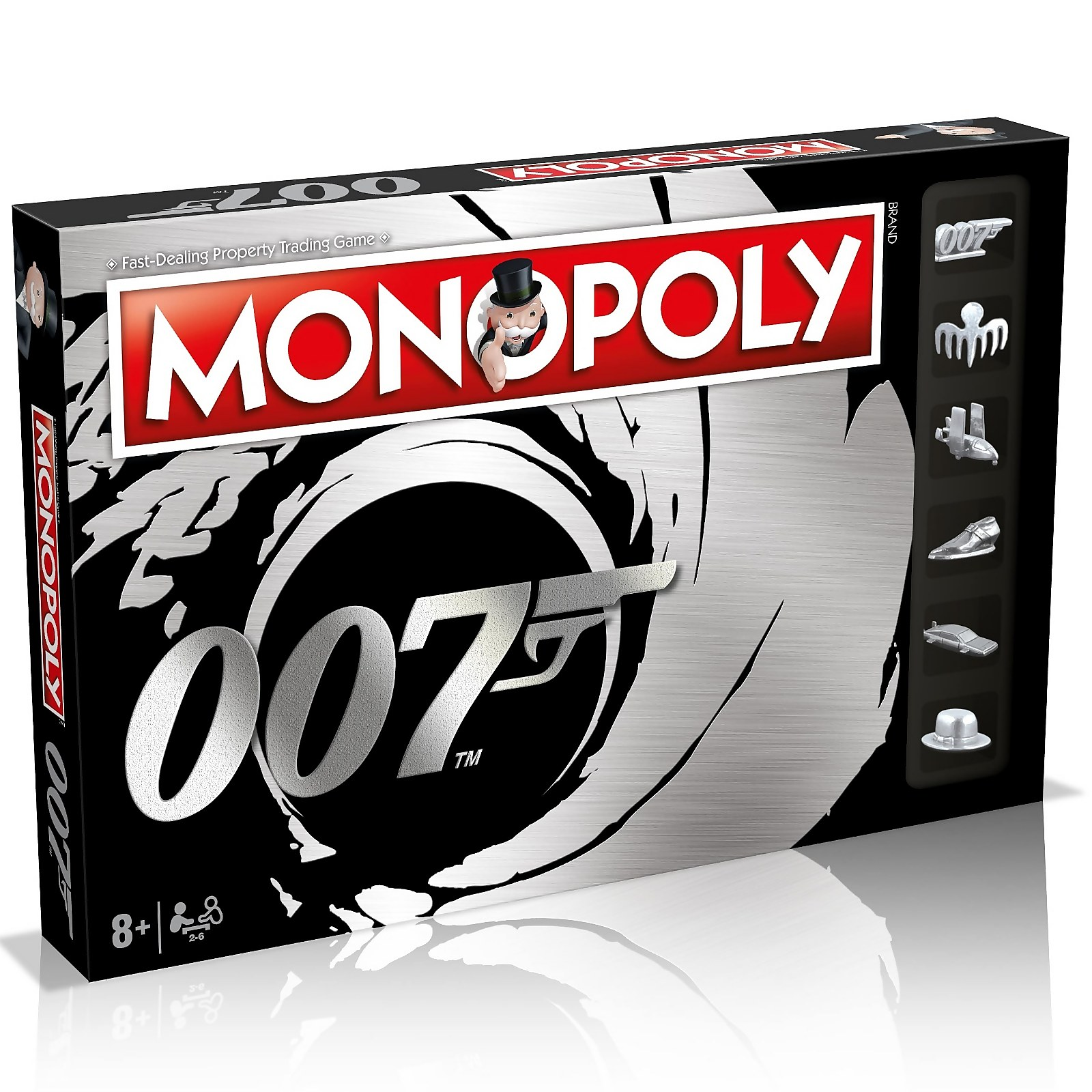 Image of Monopoly Board Game - James Bond Edition