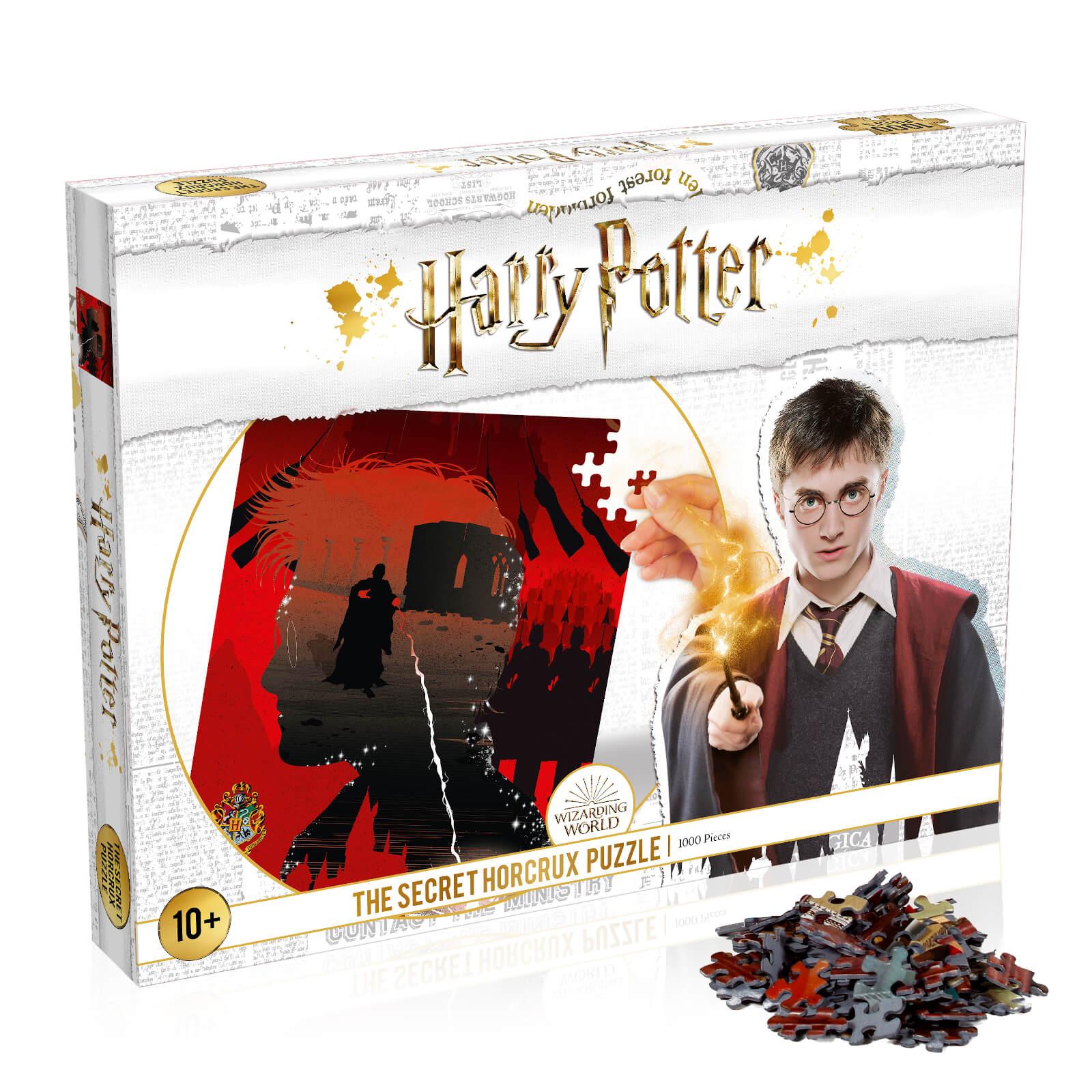 Image of 1000 Piece Jigsaw Puzzle - Harry Potter Secret Horcrux Edition