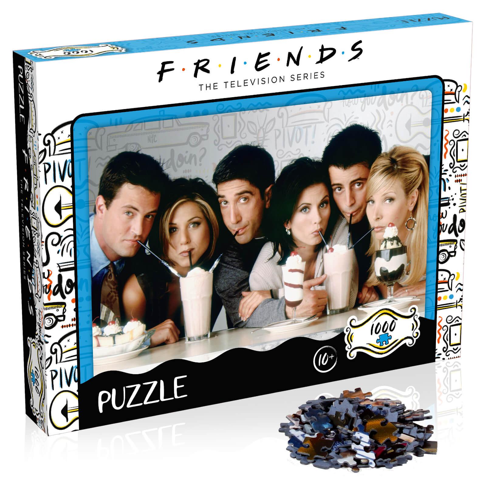 Image of 1000 Piece Jigsaw Puzzle - Friends Milkshake Edition