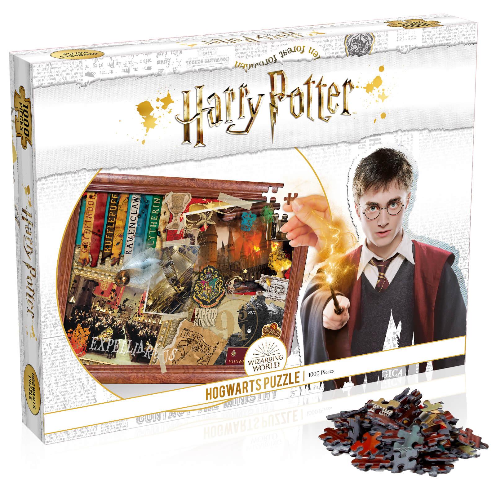 1000 Piece Jigsaw Puzzle – Harry Potter Hogwarts Edition