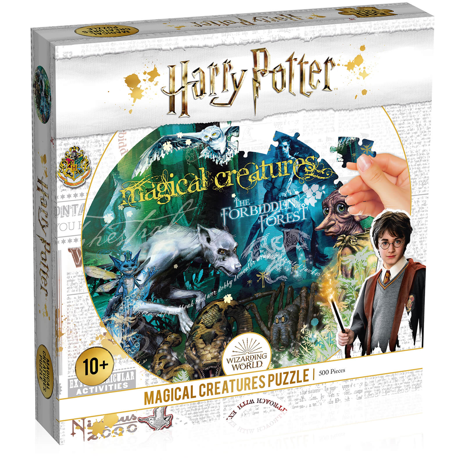 Image of 500 Piece Jigsaw Puzzle - Harry Potter Magical Creatures Edition