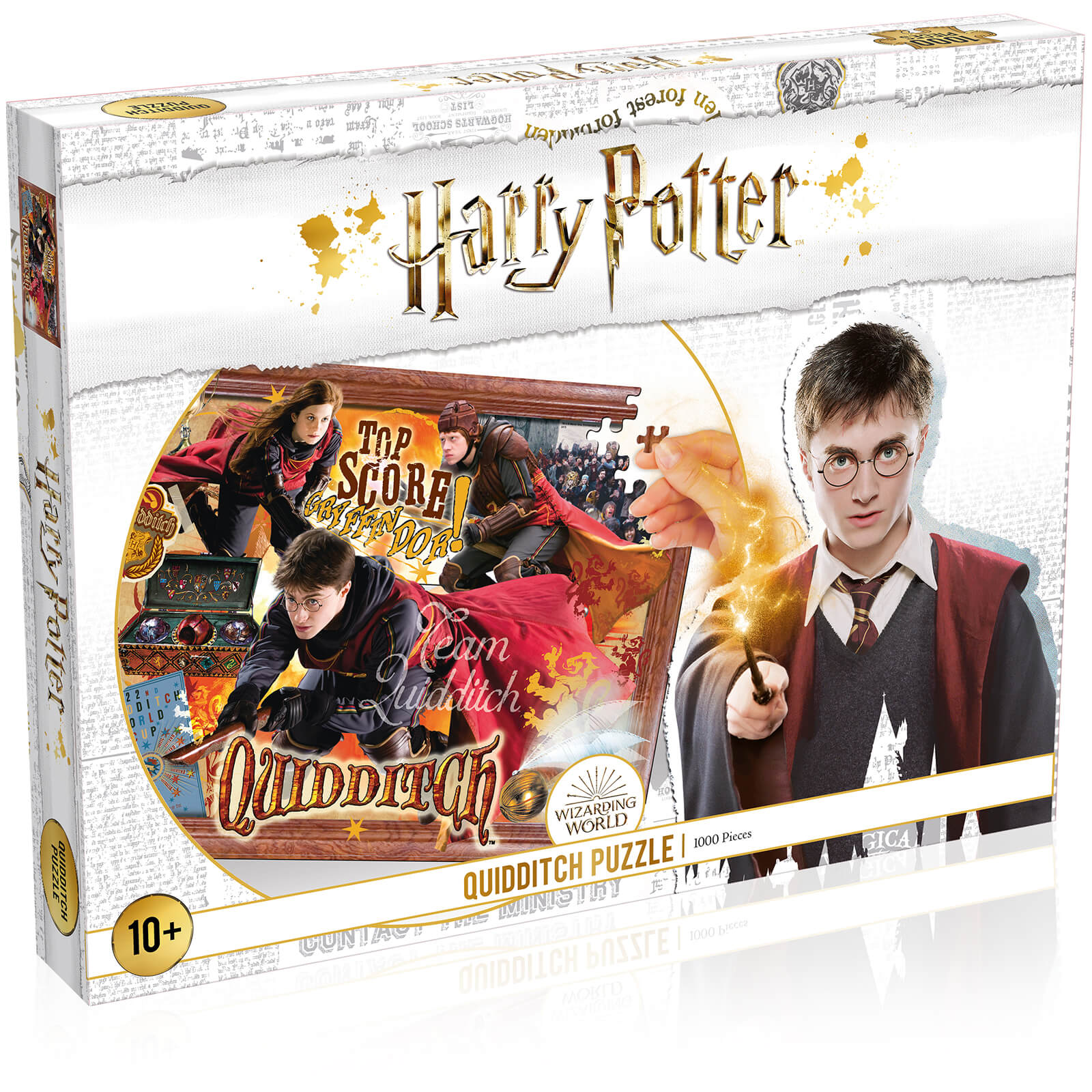 Image of 1000 Piece Jigsaw Puzzle - Harry Potter Quidditch Edition