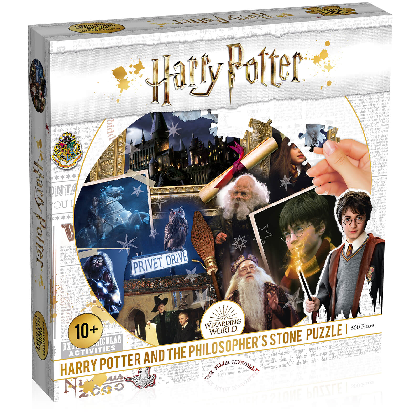 Image of 500 Piece Jigsaw Puzzle - Harry Potter and the Philosophers Stone Edition