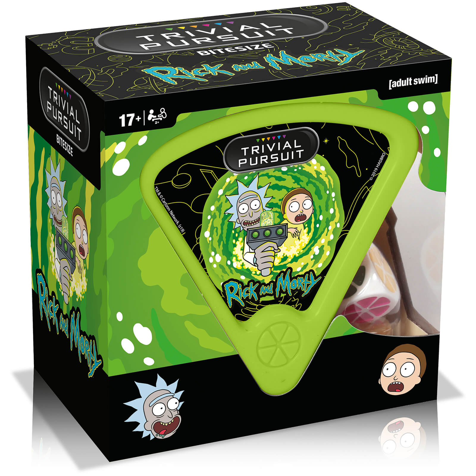 Image of Trivial Pursuit Game - Rick and Morty Edition