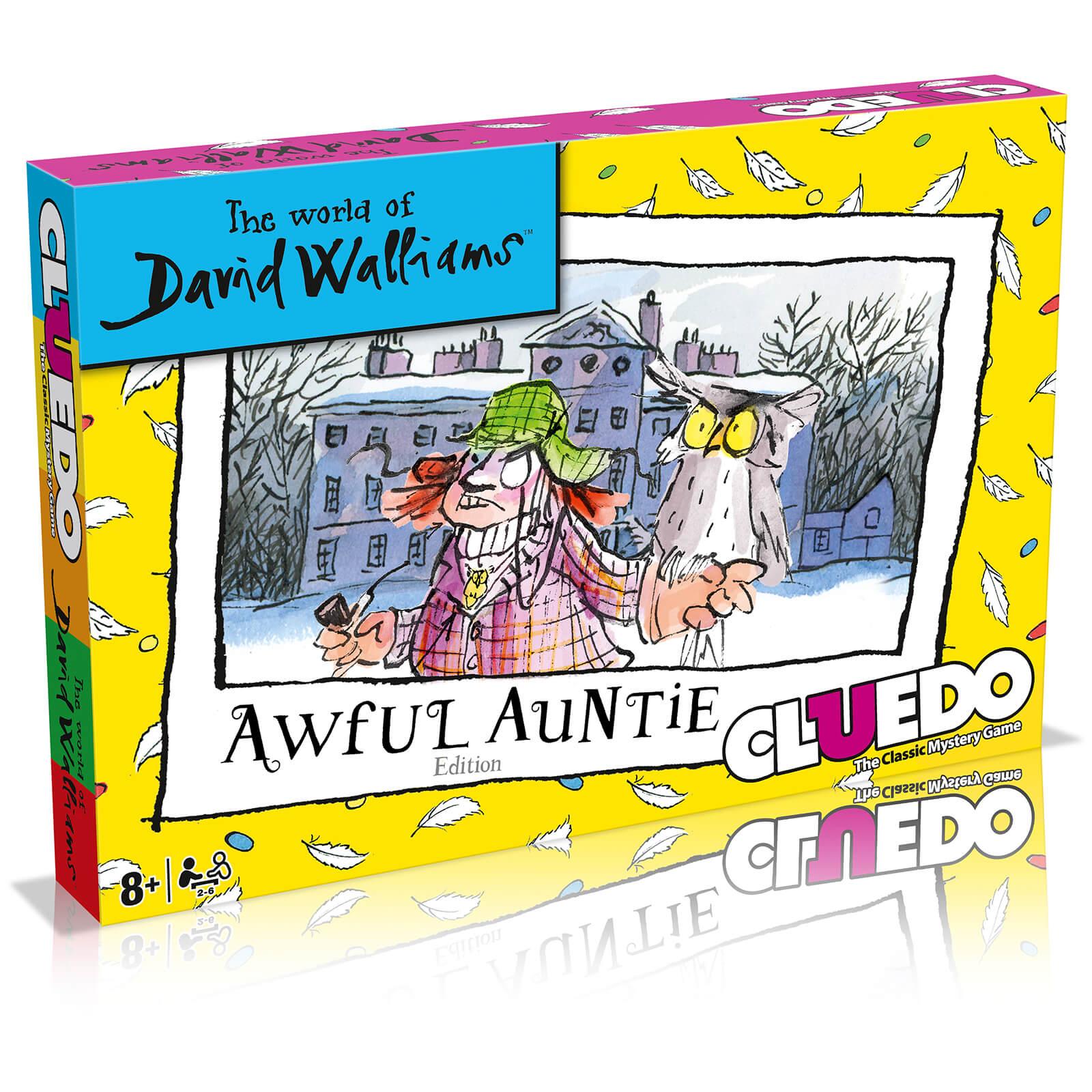 Image of Cluedo Mystery Board Game - David Walliams Edition