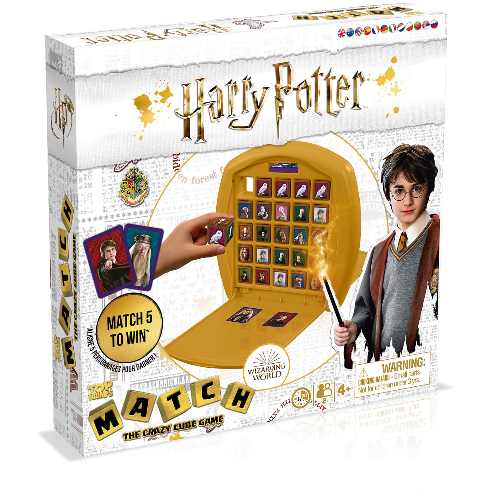 Image of Top Trumps Match Board Game - Harry Potter Edition